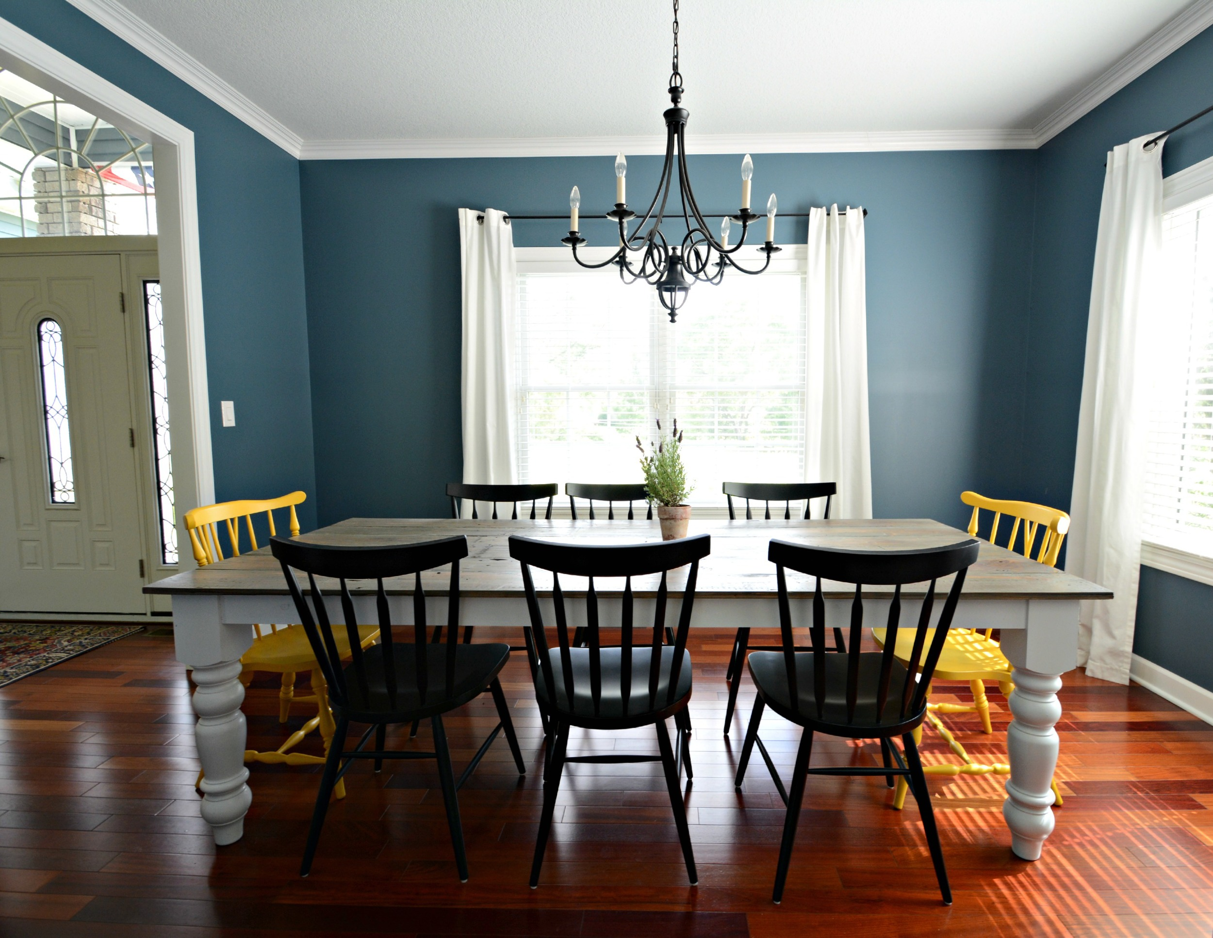 Then and Now - Dining Room
