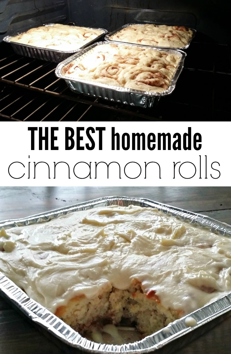 Grandma's Homemade Cinnamon Rolls.  The best cinnamon rolls you will ever eat!
