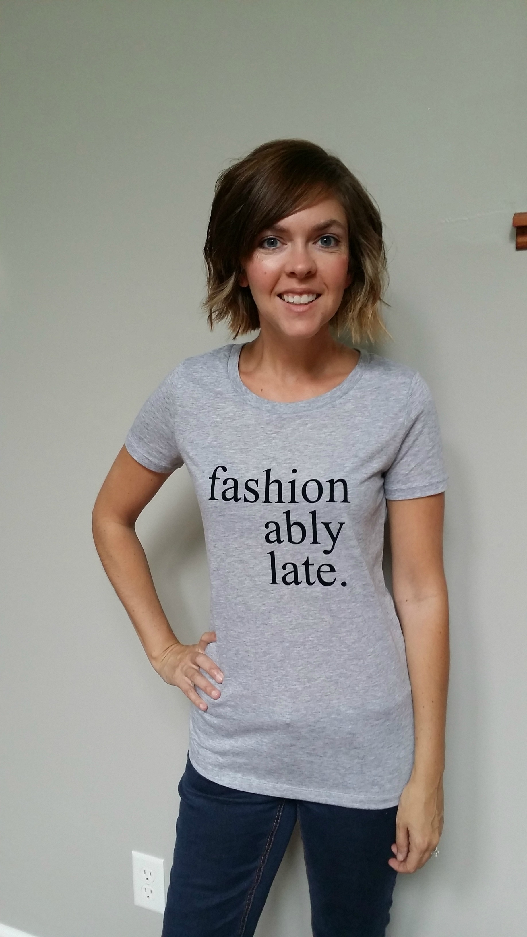 Use the Silhouette Portrait to design a graphic tee.
