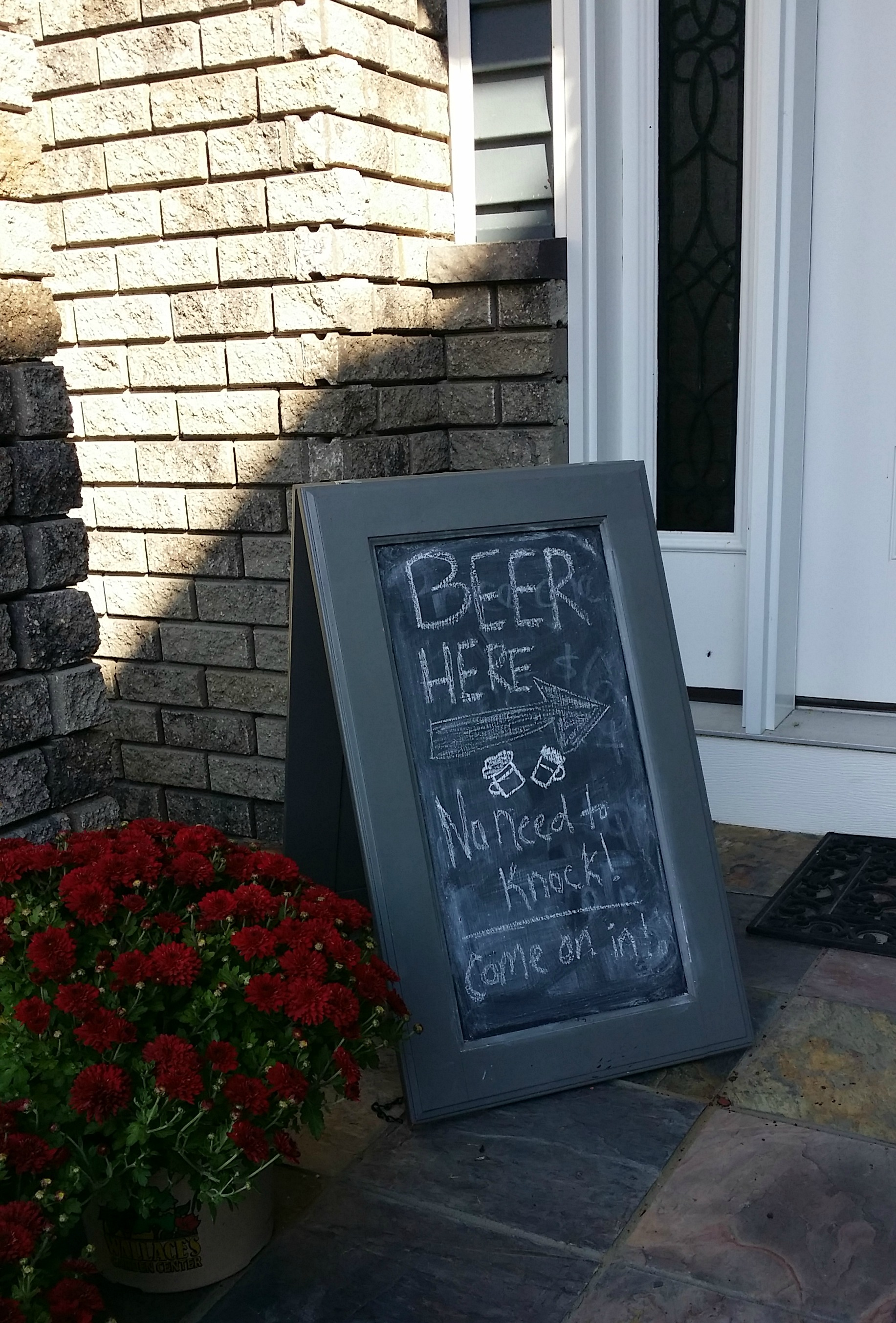 Beer Tasting Sign