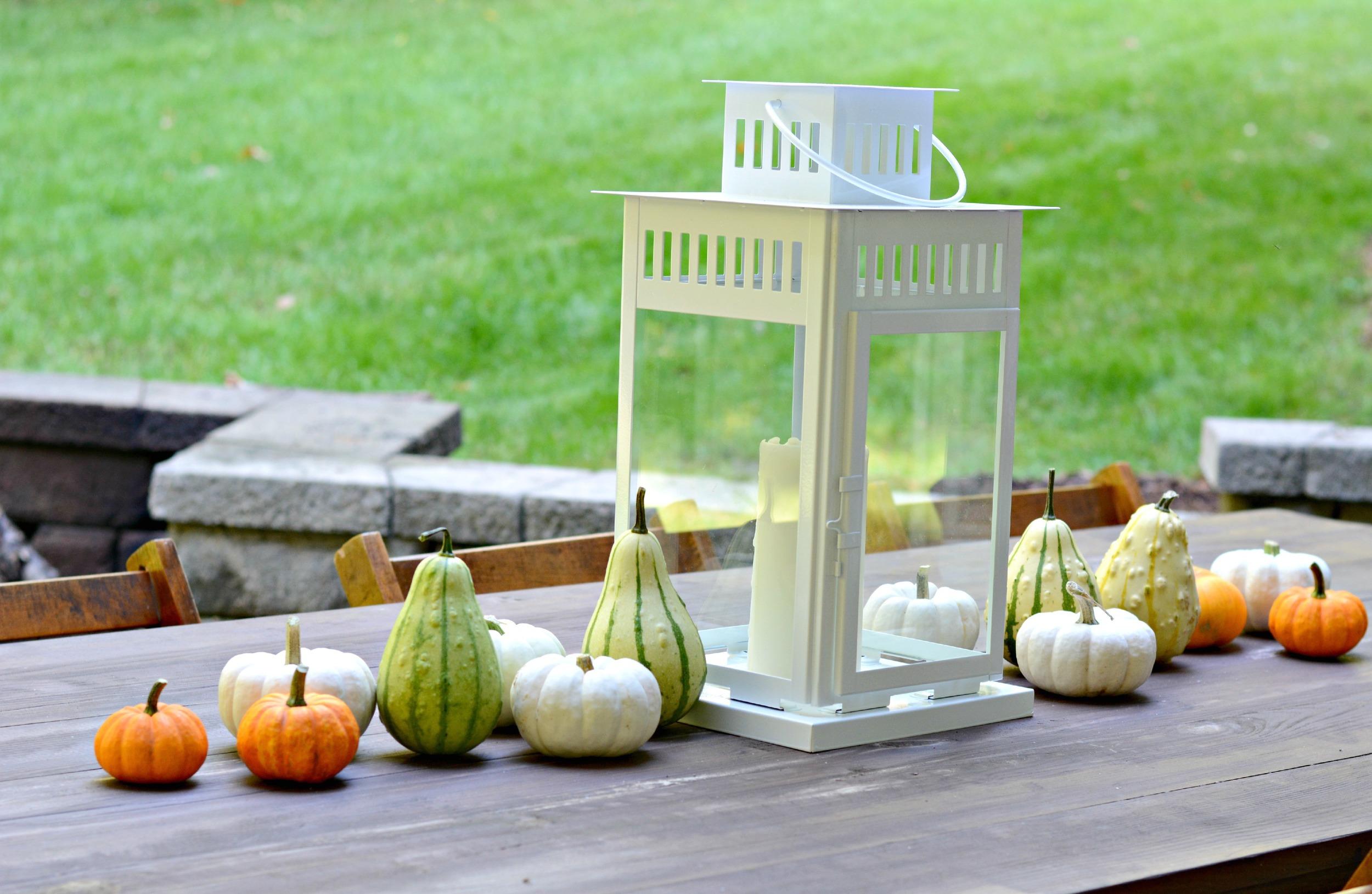 Fall Outdoor Patio Decor