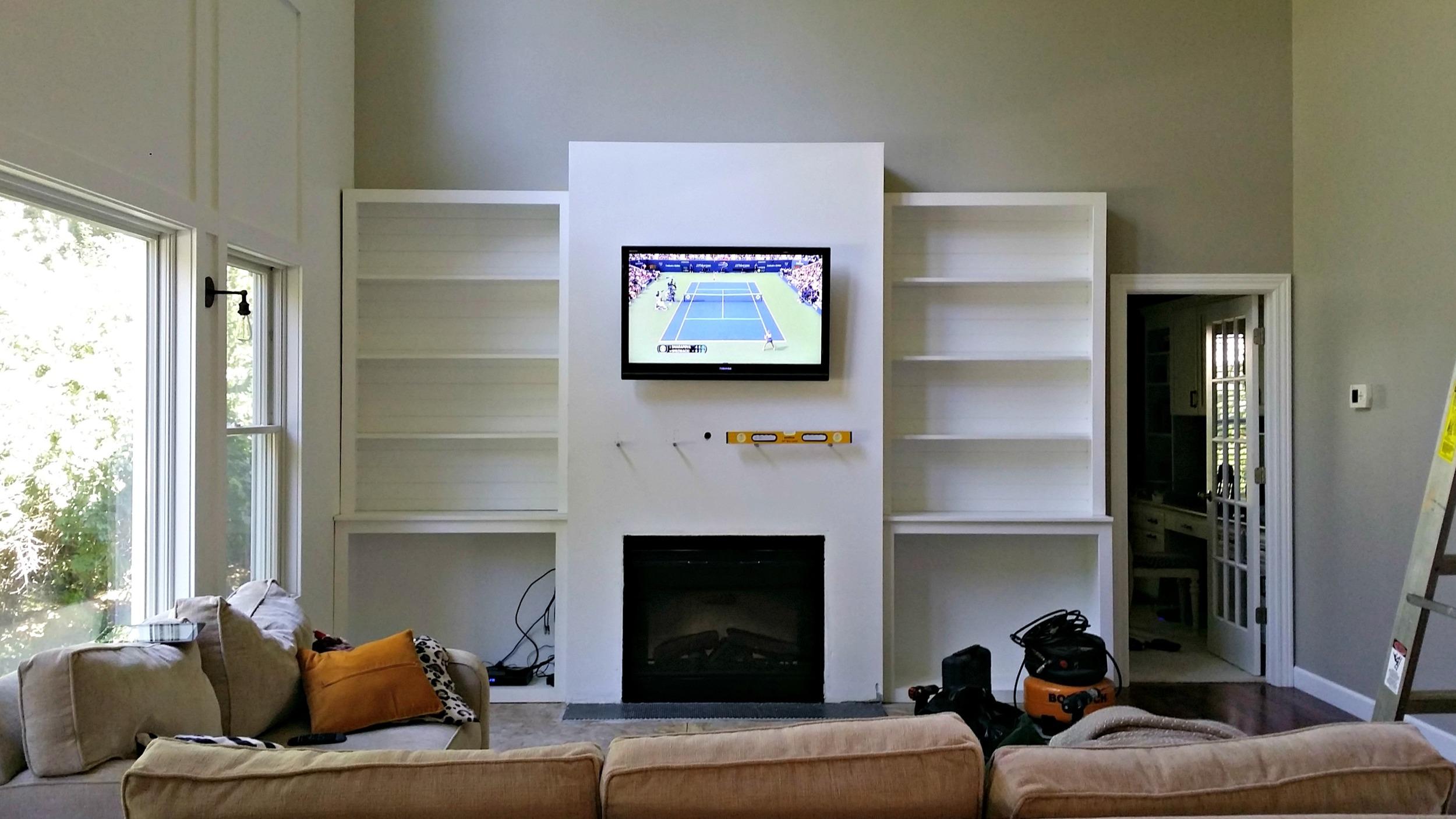 Living Room Built-Ins \