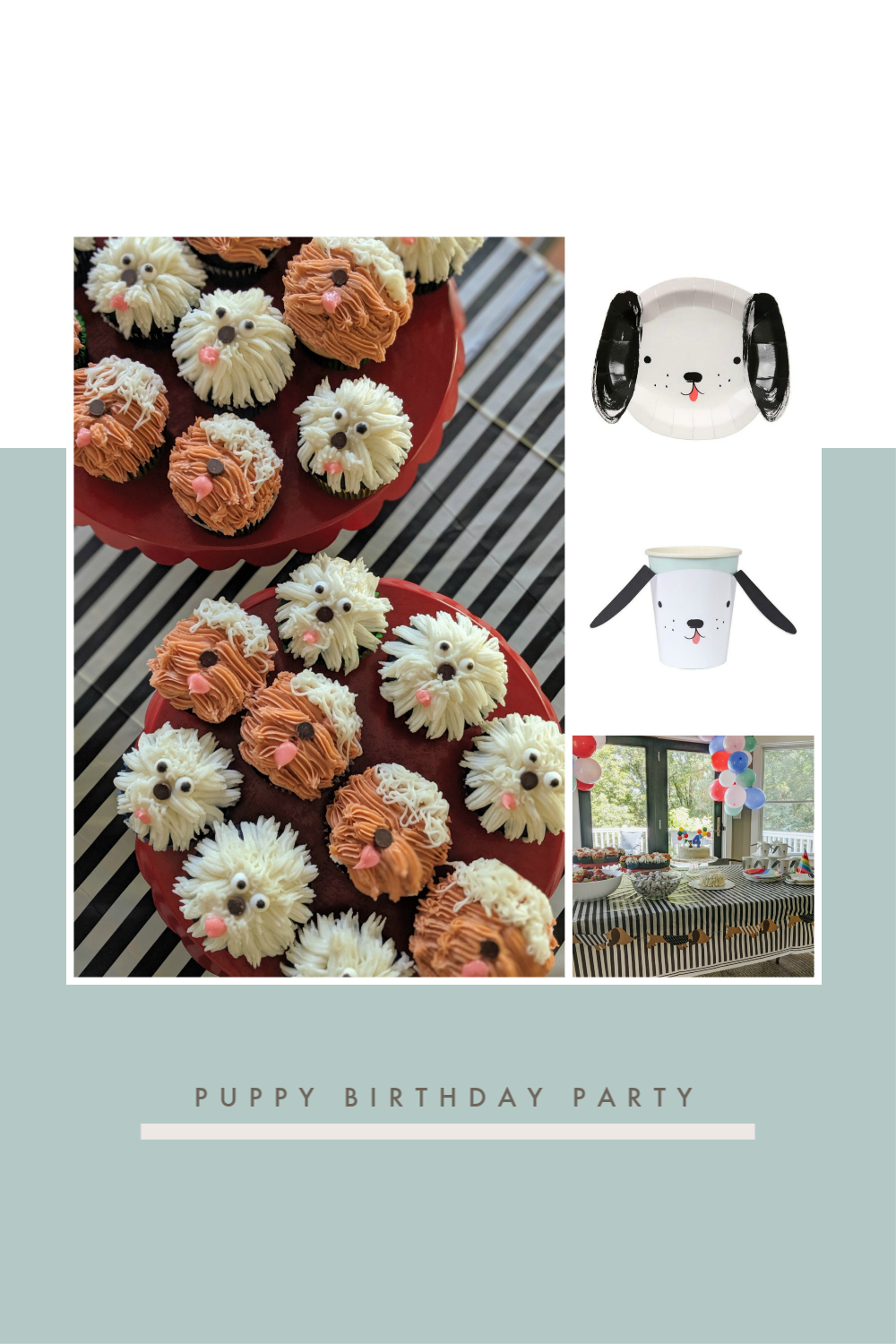 Puppy Birthday Party. Simple ideas for a puppy themed party..png