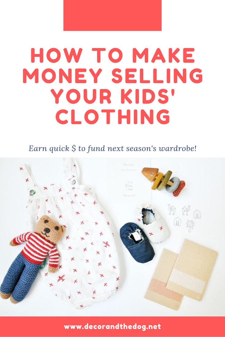 How to Make Money Selling Your Kid's Clothing. Earn quick cash for next season's wardrobe!