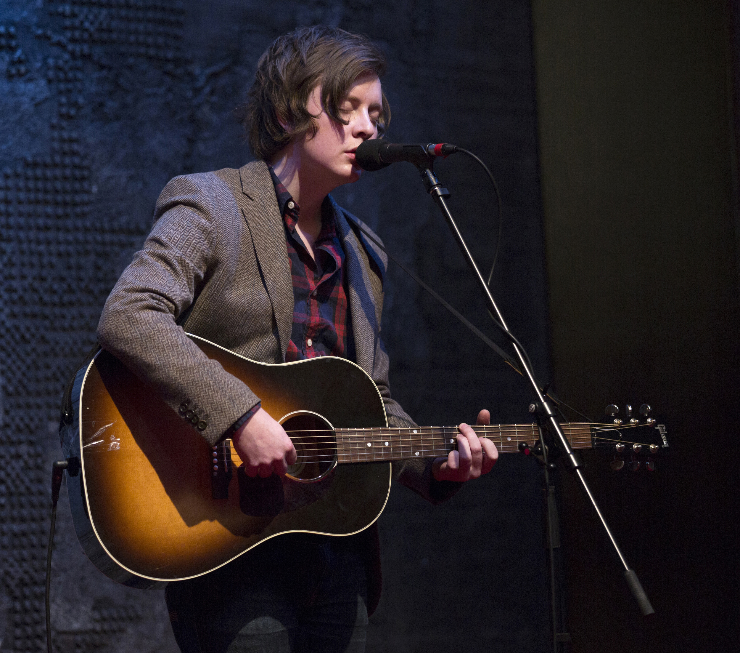 OTTAWA, ON. MAY 8, 2013 -- Singer-songwriter Kalle Mattson performs at the National Art Centre's NAC Presents Fall lineup announcement on Wednesday, May 8, 2013. (Leslie Schachter/Ottawa Citizen)