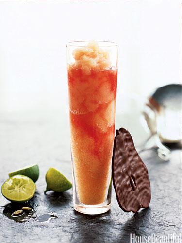 Campari Sorbet Cocktail
