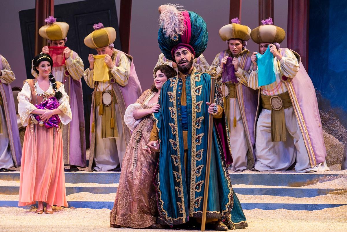 Elvira in L'italiana in Algeri with Opera Santa Barbara