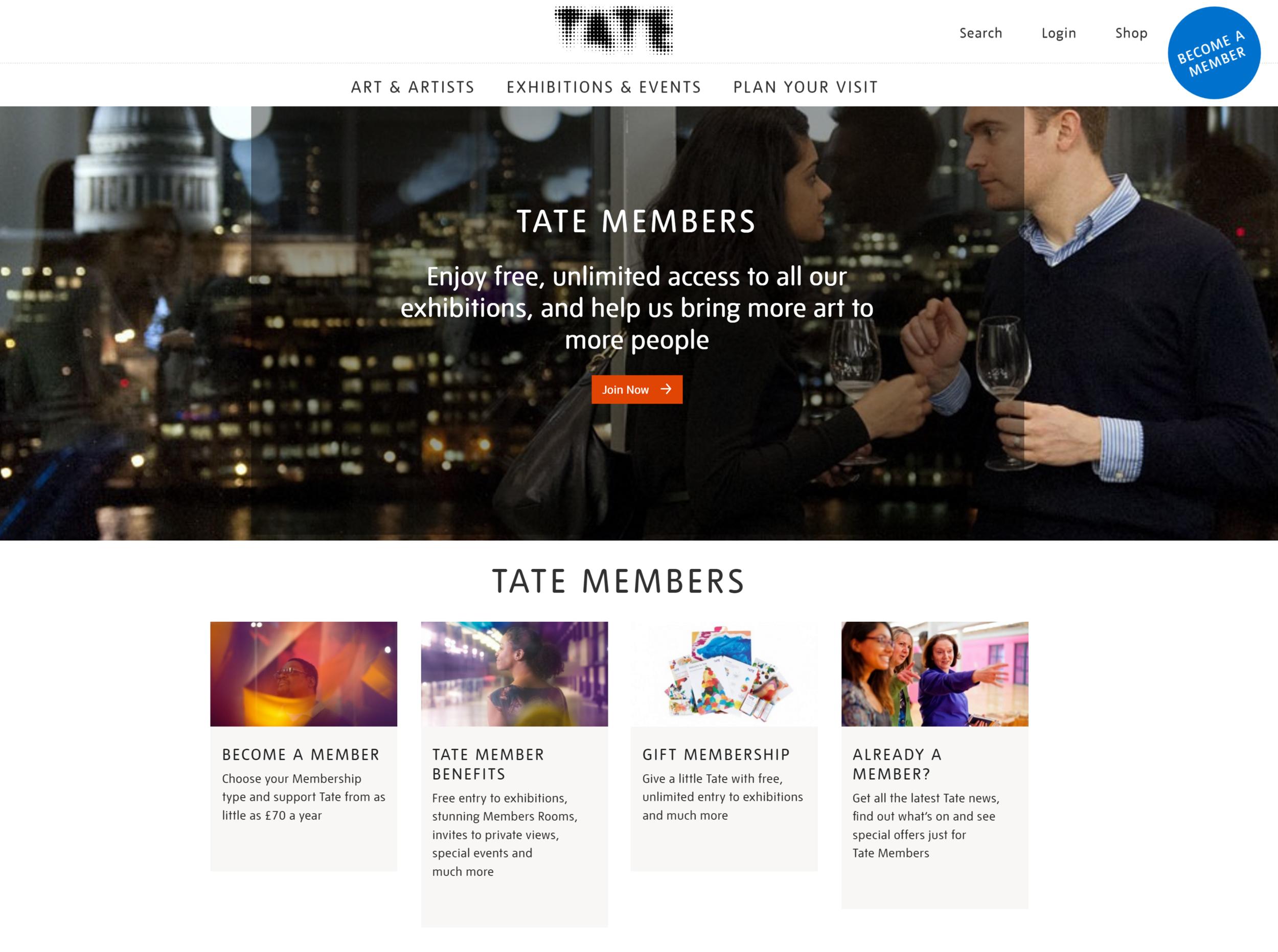 Tate Member Landing.png