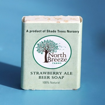Strawberry Ale Beer Soap $4.49