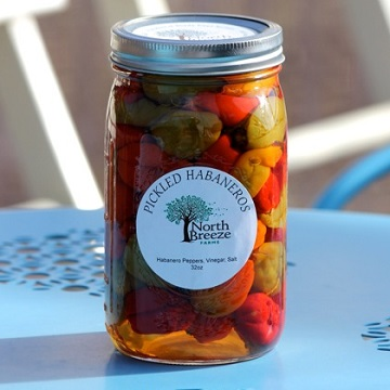 Pickled Habanero Peppers $14