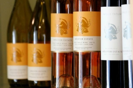 Wolffer Estate Vineyard wines