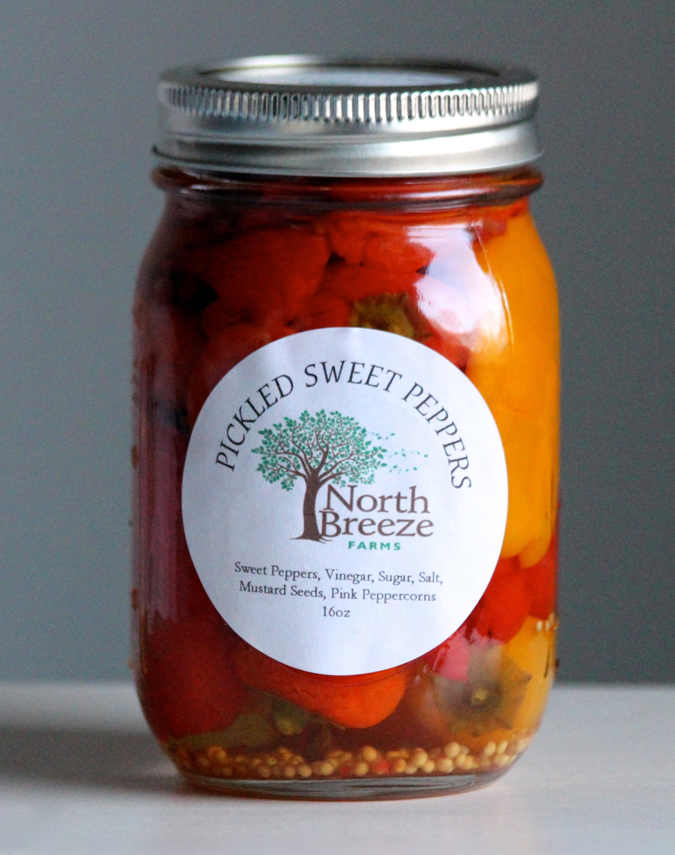 Pickled Cubanelle Peppers $10