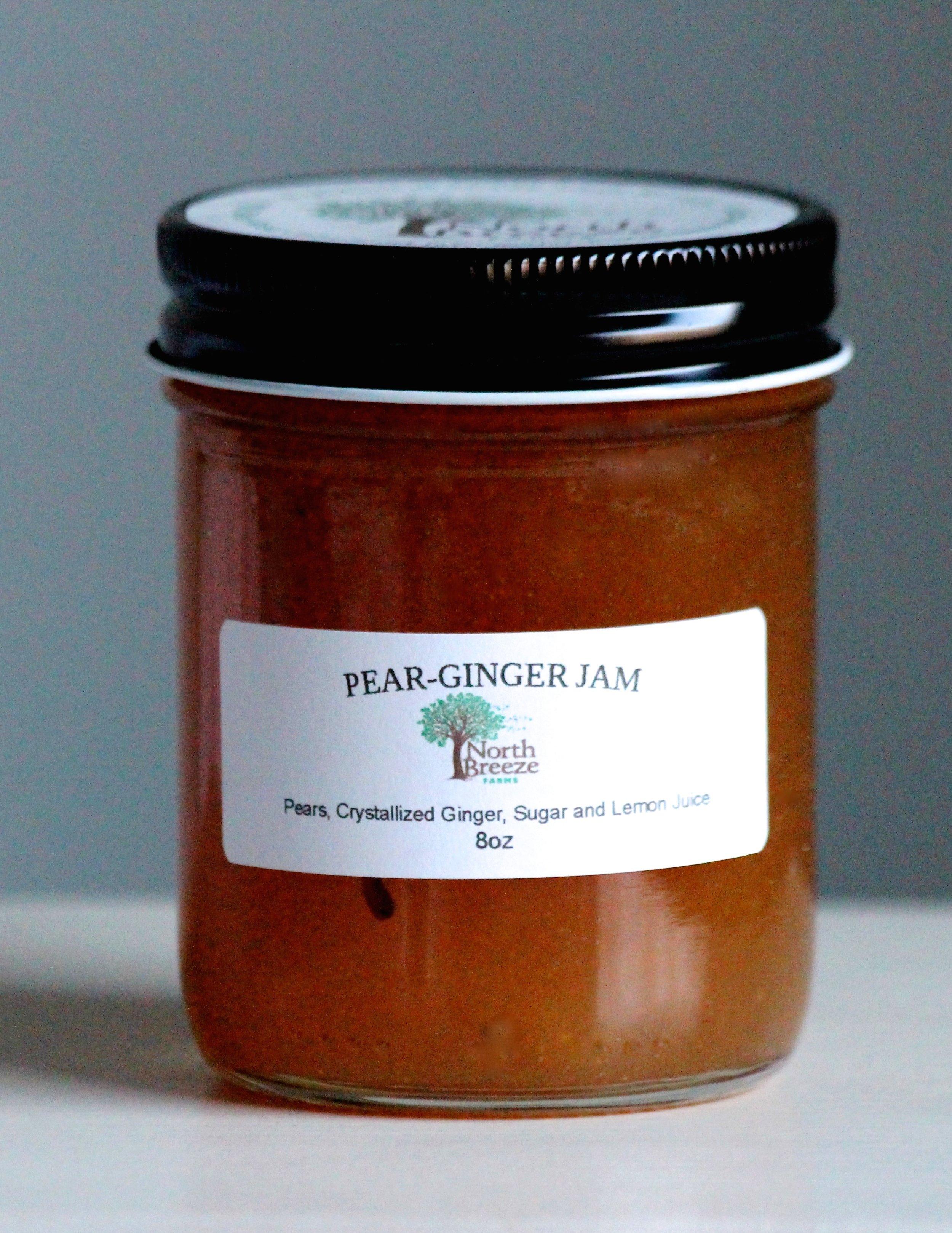 Pear-Ginger Jam $12