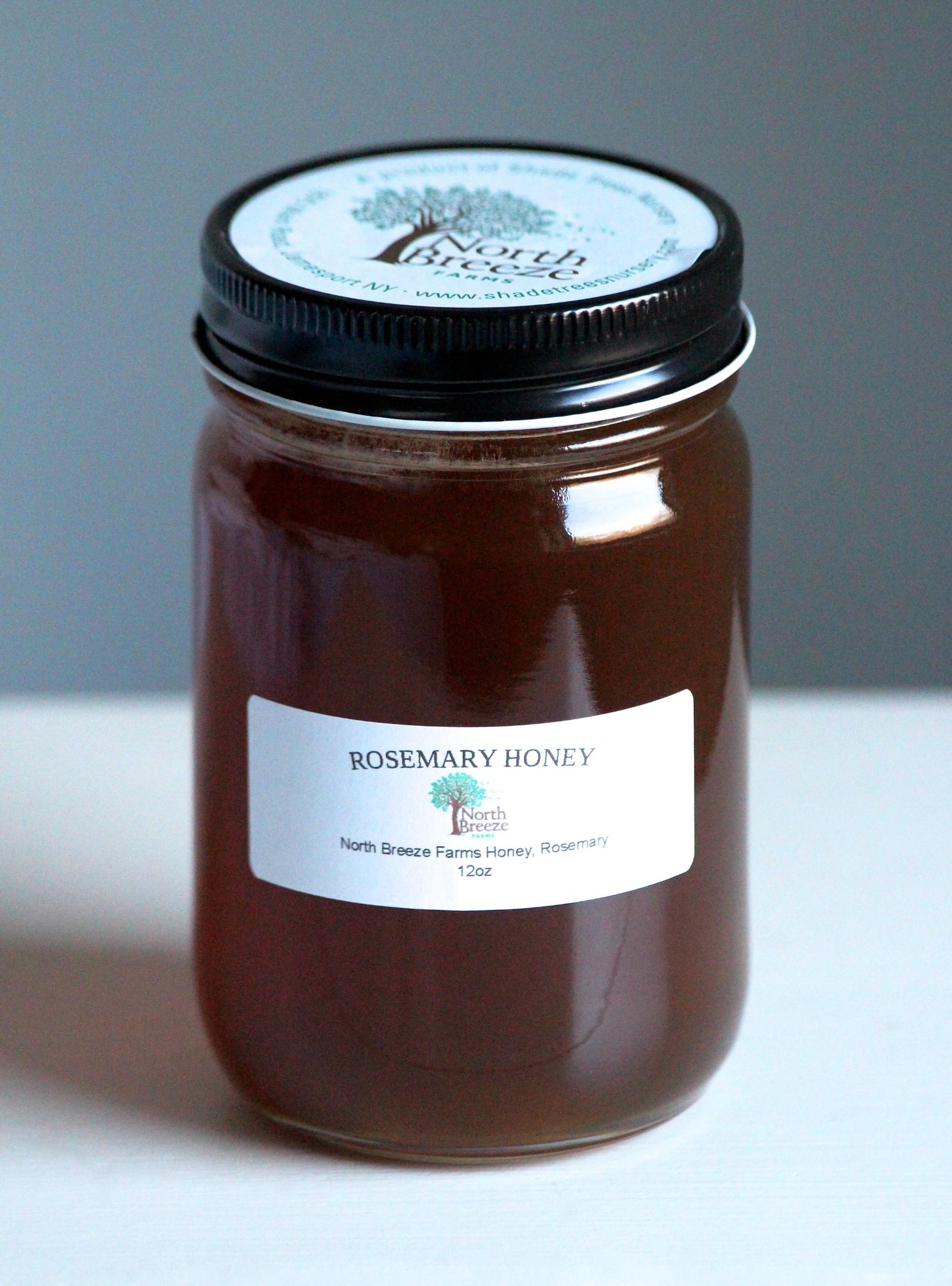 Infused Honey Rosemary 8 oz $16, 12 oz $24