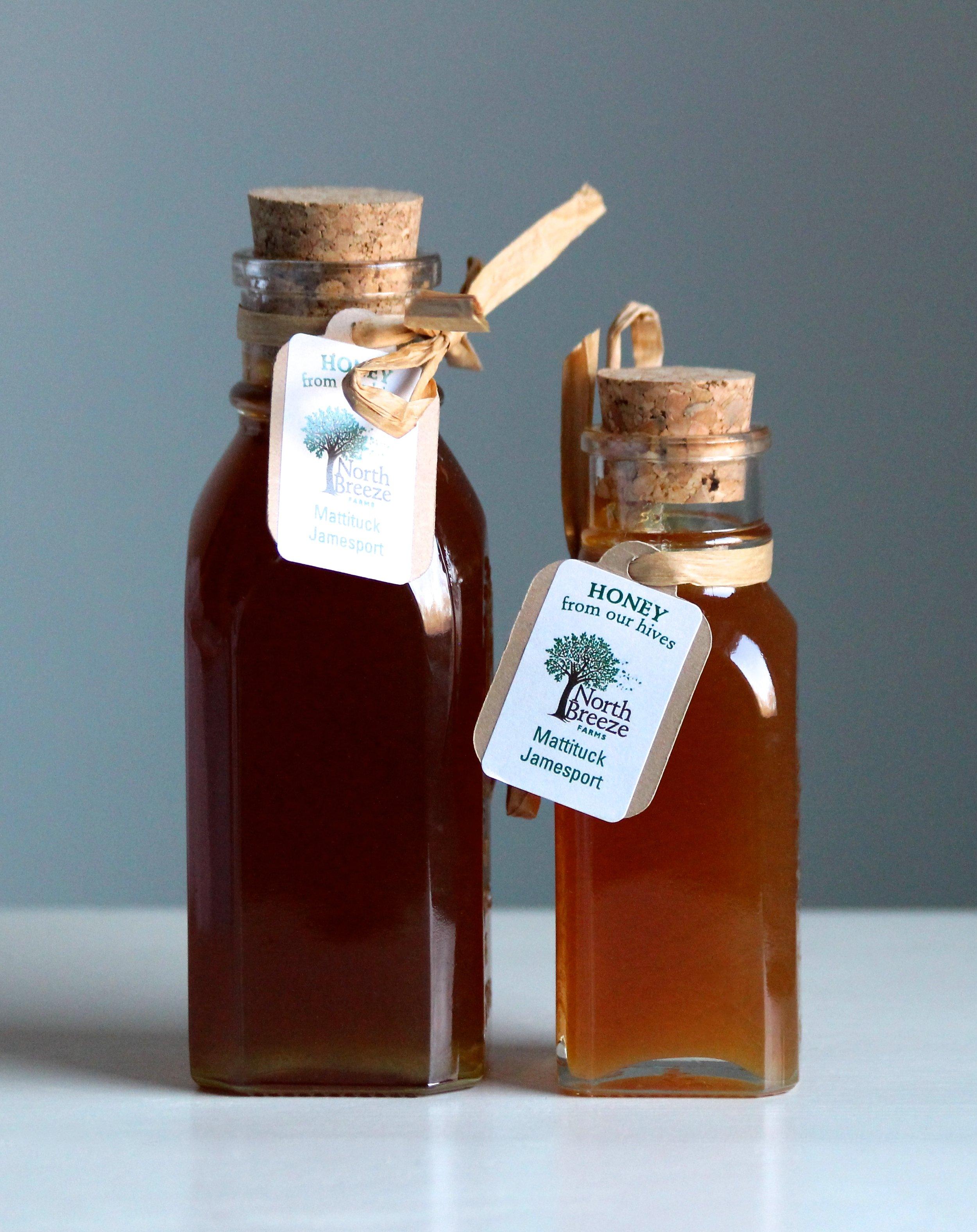 Raw Honey  4 oz $8, 8 oz $16