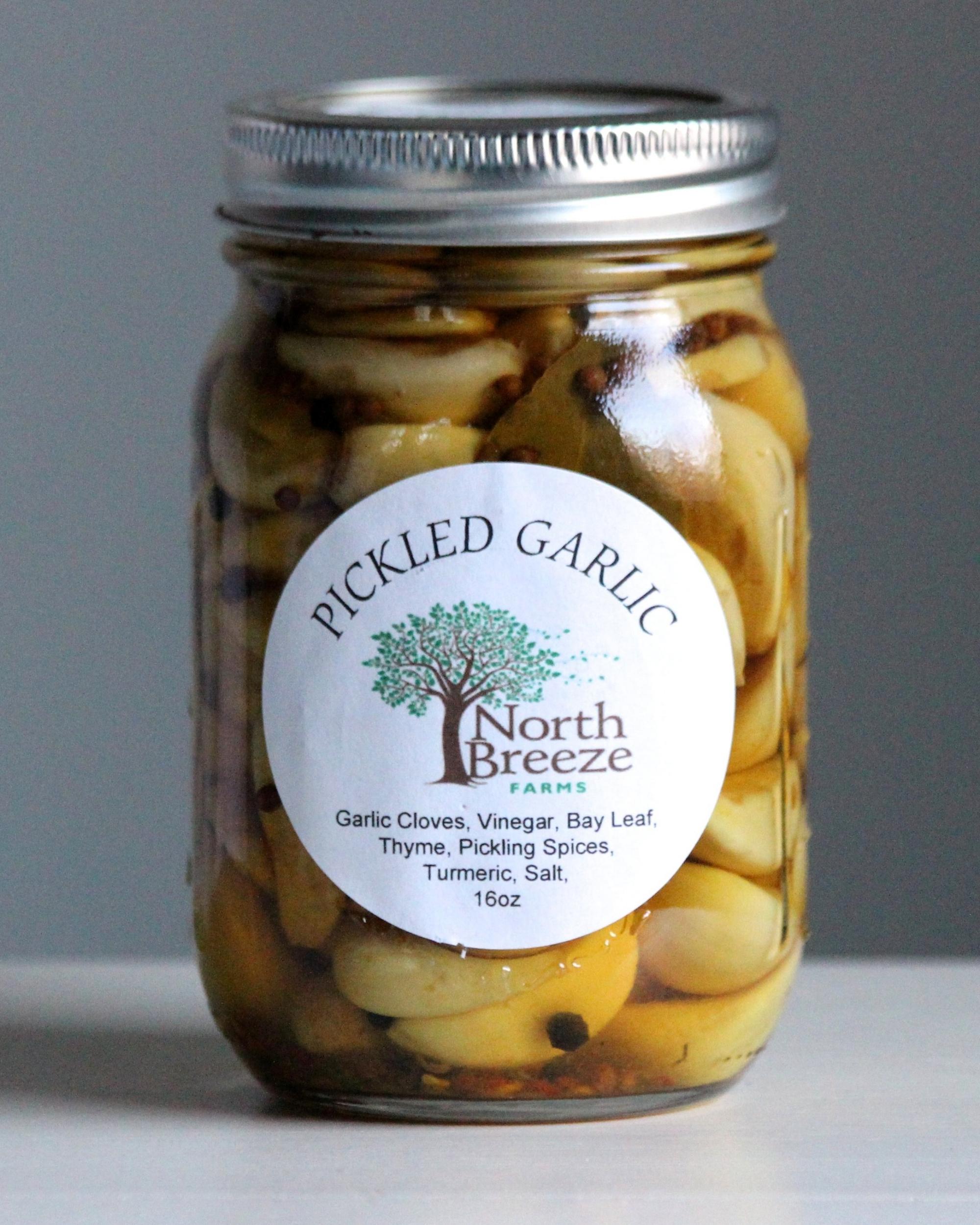 Pickled Garlic $12.50