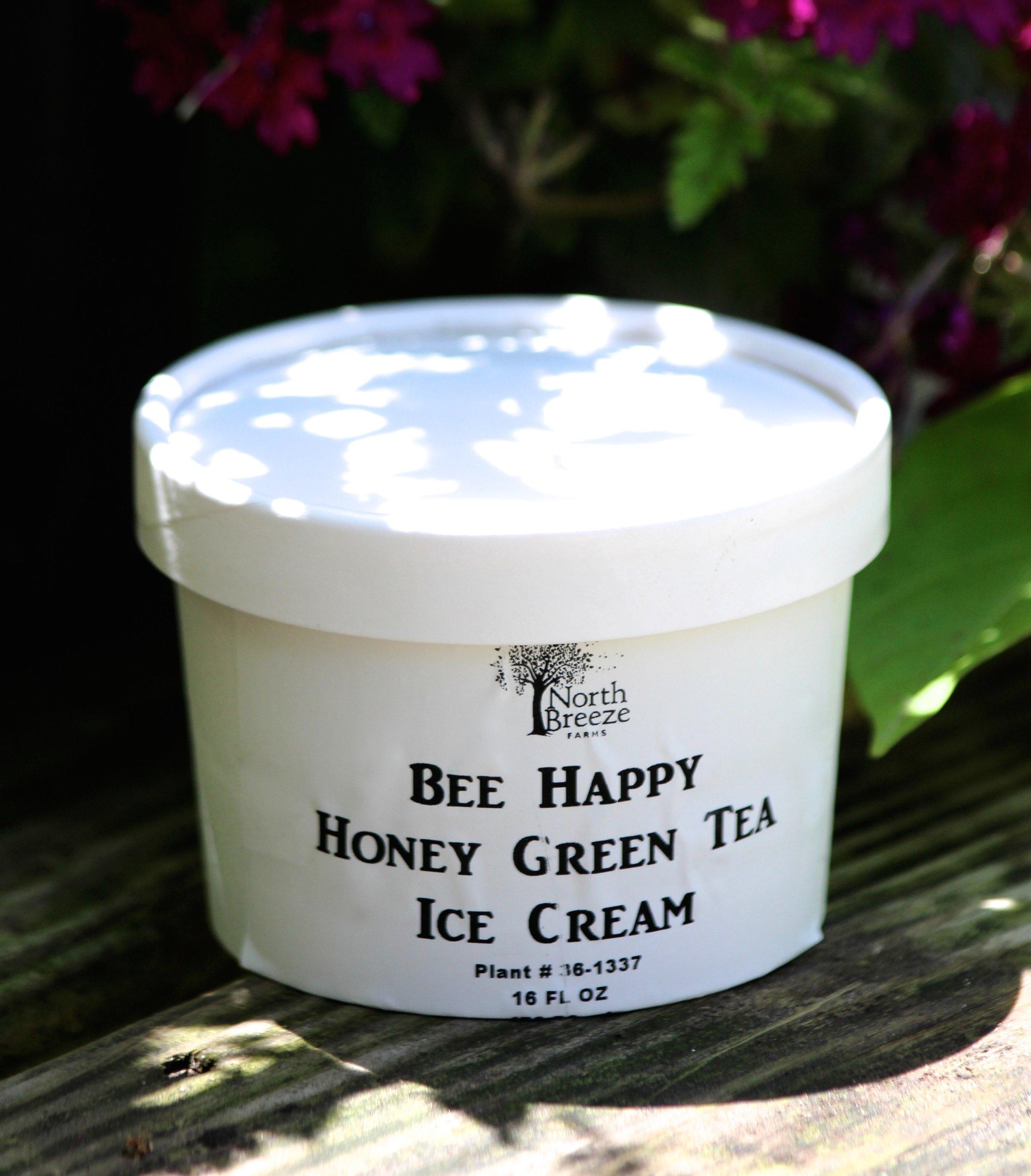 Green Tea Honey Ice Cream $2.99