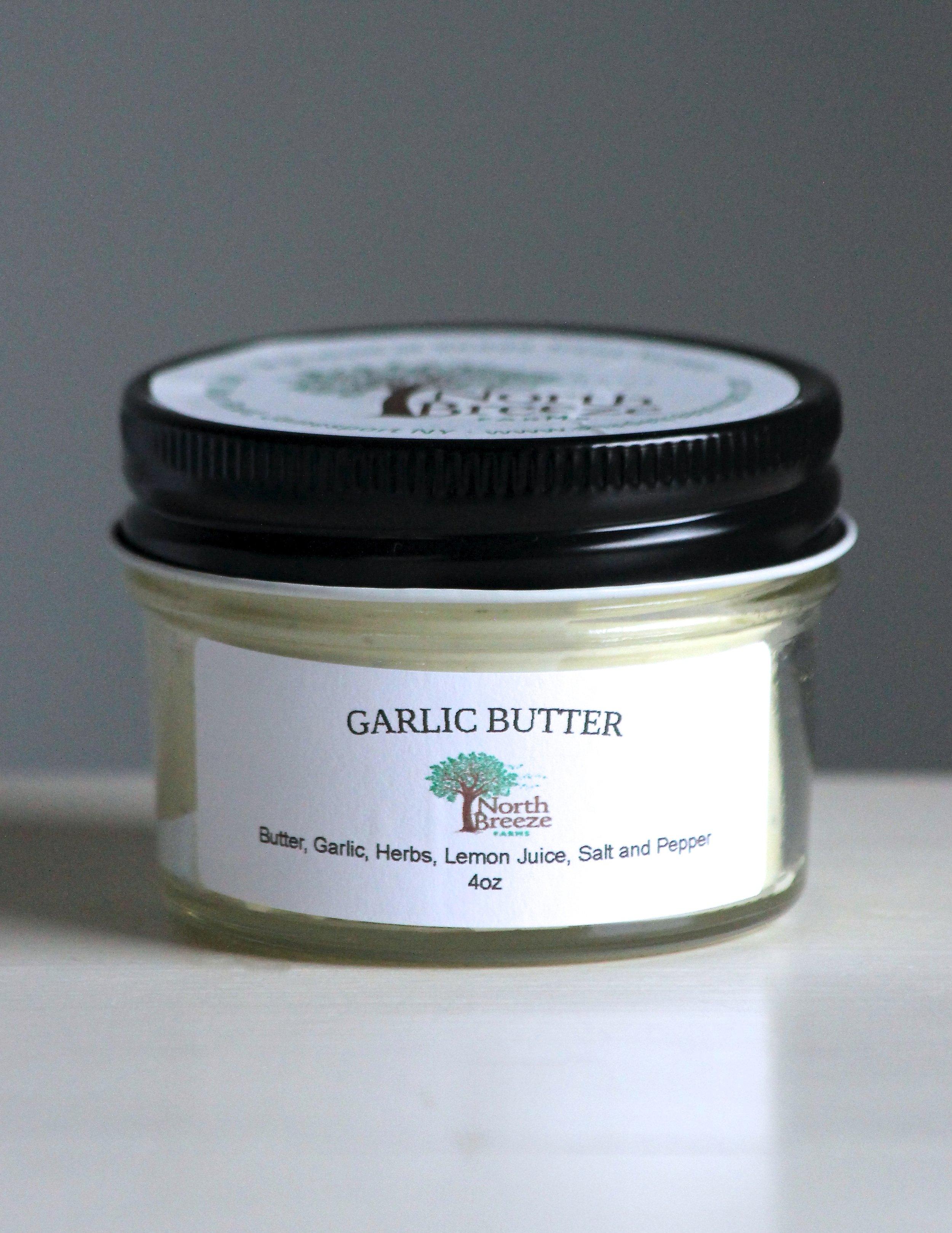 Garlic Butter 4oz $6.50