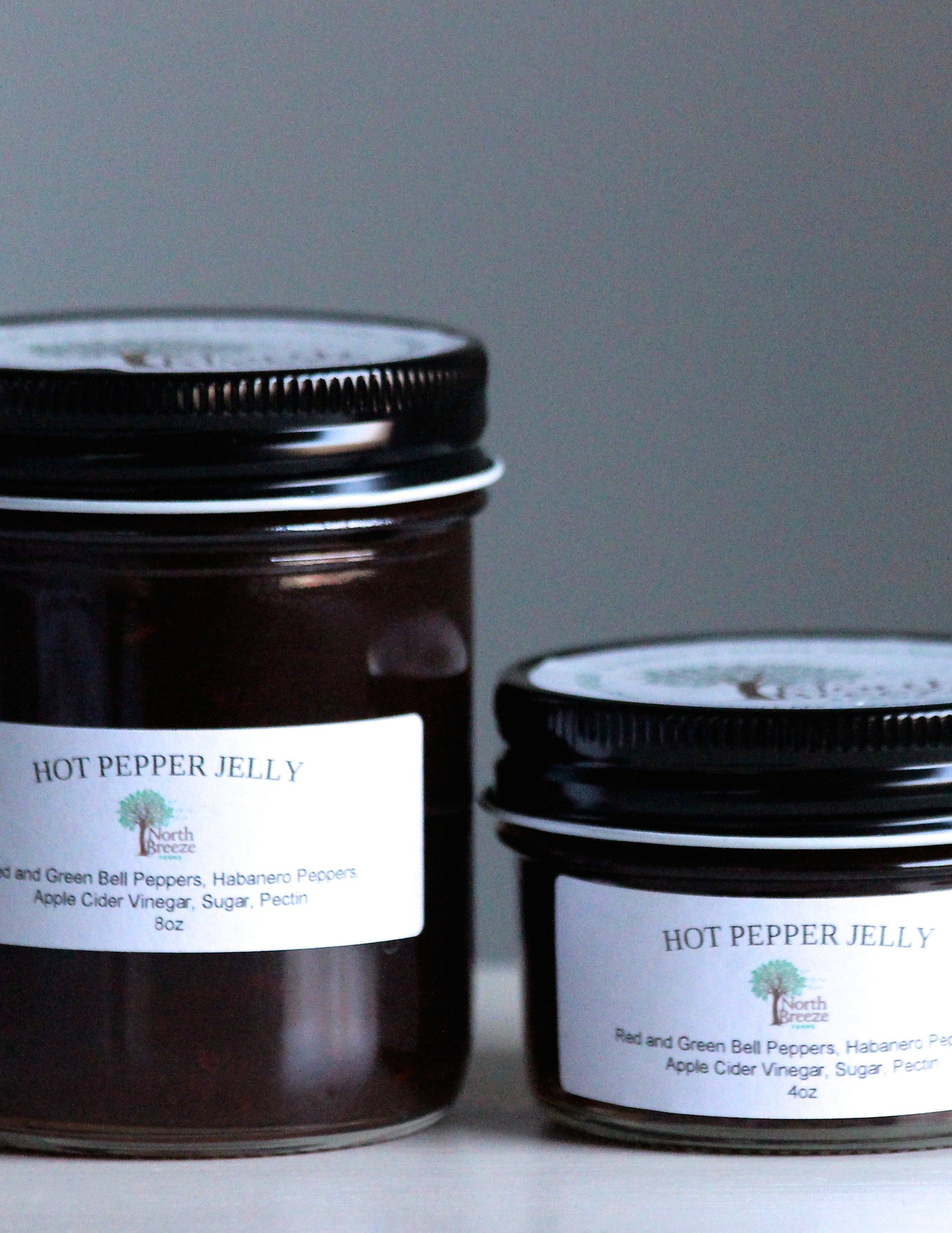 Hot Pepper Jelly 4 oz $8, 8oz $12