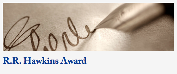 Photo from The Prose Awards website (http://www.proseawards.com/index.html)