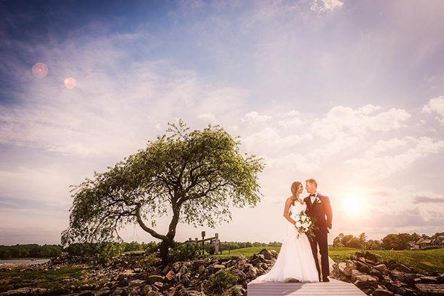 One from Ari and Dan's beautiful day @wentworthbythesea #wedding #weddingphotographer #boston #nhwedding #nhweddingphotographer #dress #weddingdress #destionationweddingphotographer #bostonweddingphotographer