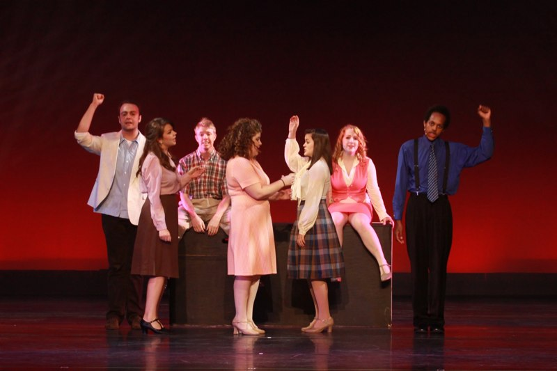 Performing  9 to 5  at the Cobb Energy Center with the Broadway Dreams interns, featuring Megan Hilty and Stephanie J. Block.