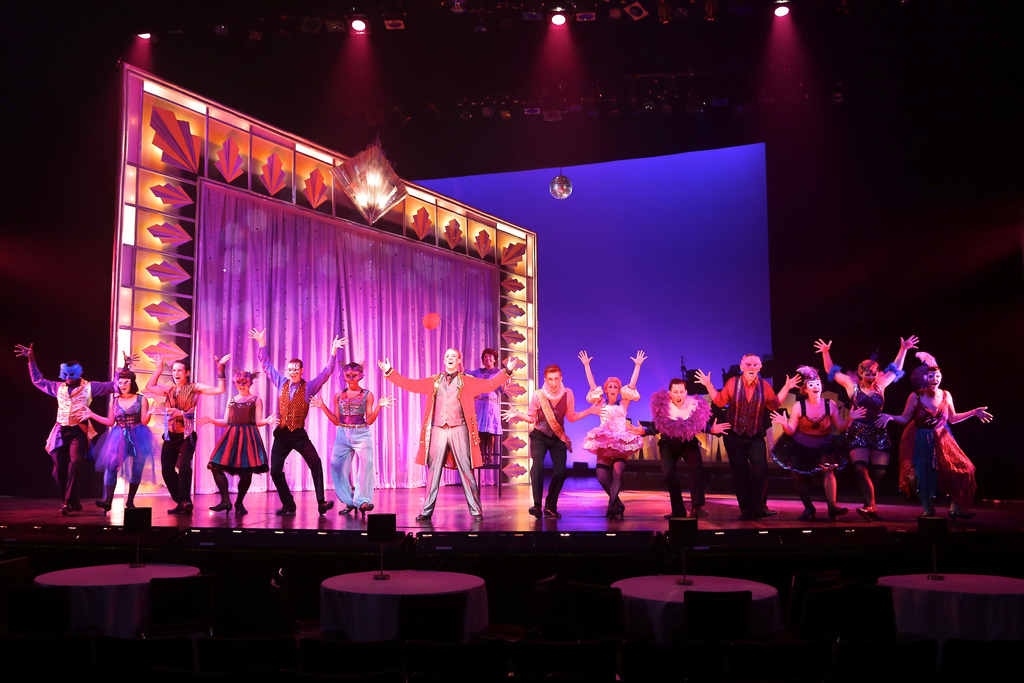 "Performing as Billy Flynn in ""Razzle Dazzle"" from  Chicago , directed by Tony Award winner Chet Walker."