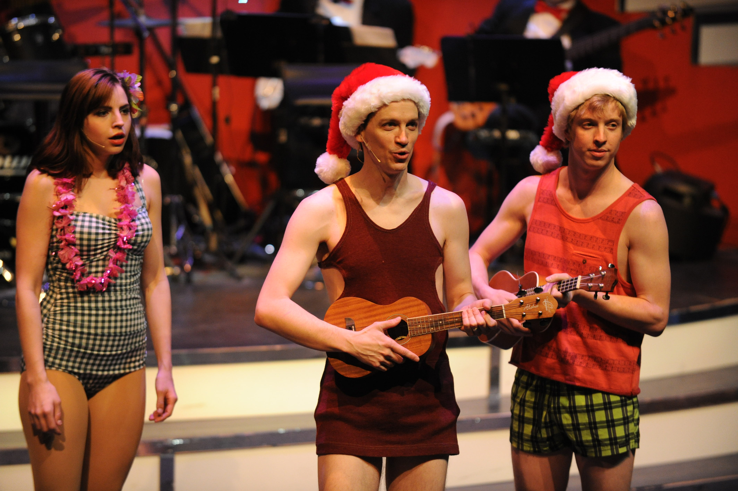 Christmas Canteen 2013  at The Aurora Theatre, directed by Anthony P. Rodriguez.   Photo Credit: Brendan Sullivan