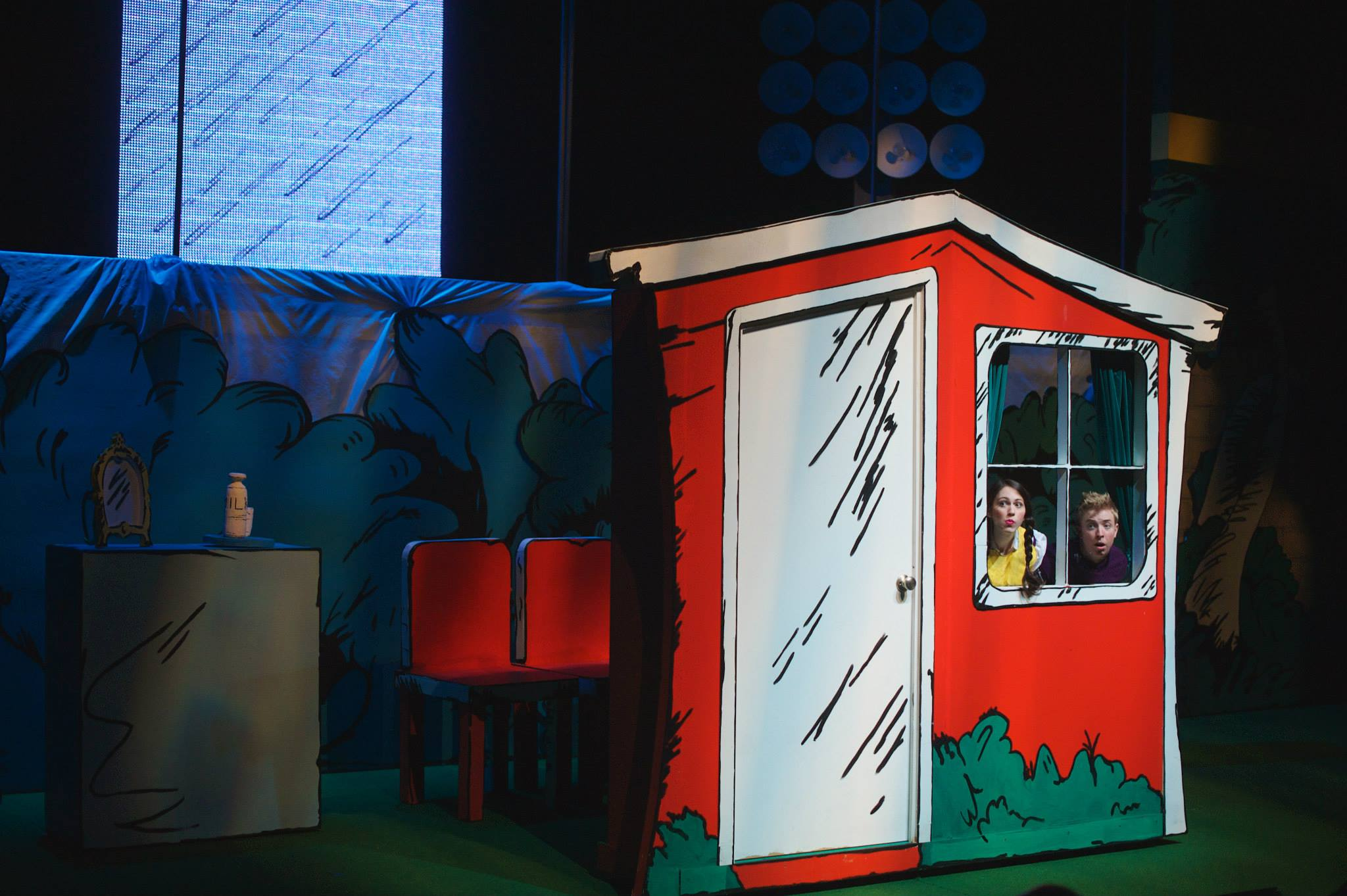 The Cat in the Hat  at the  Aurora Theatre  directed by  Jaclyn Hofmann    Photo Credit: Chris Bartelski