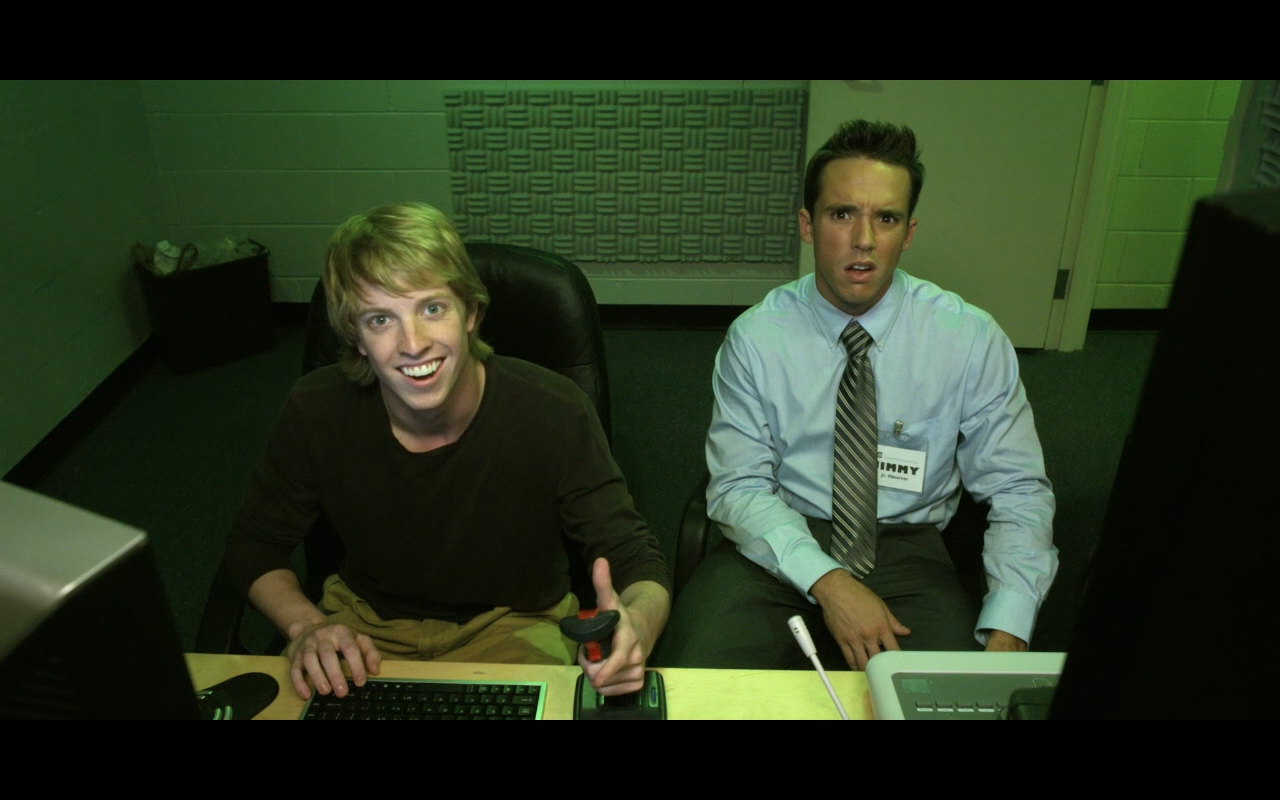 Production still from Fun World with actor Brad Mills, directed by Barry Mills; written by Jeff McNeil, Barry Mills & Jack Pendarvis; cinematography by J. Christopher Campbell.