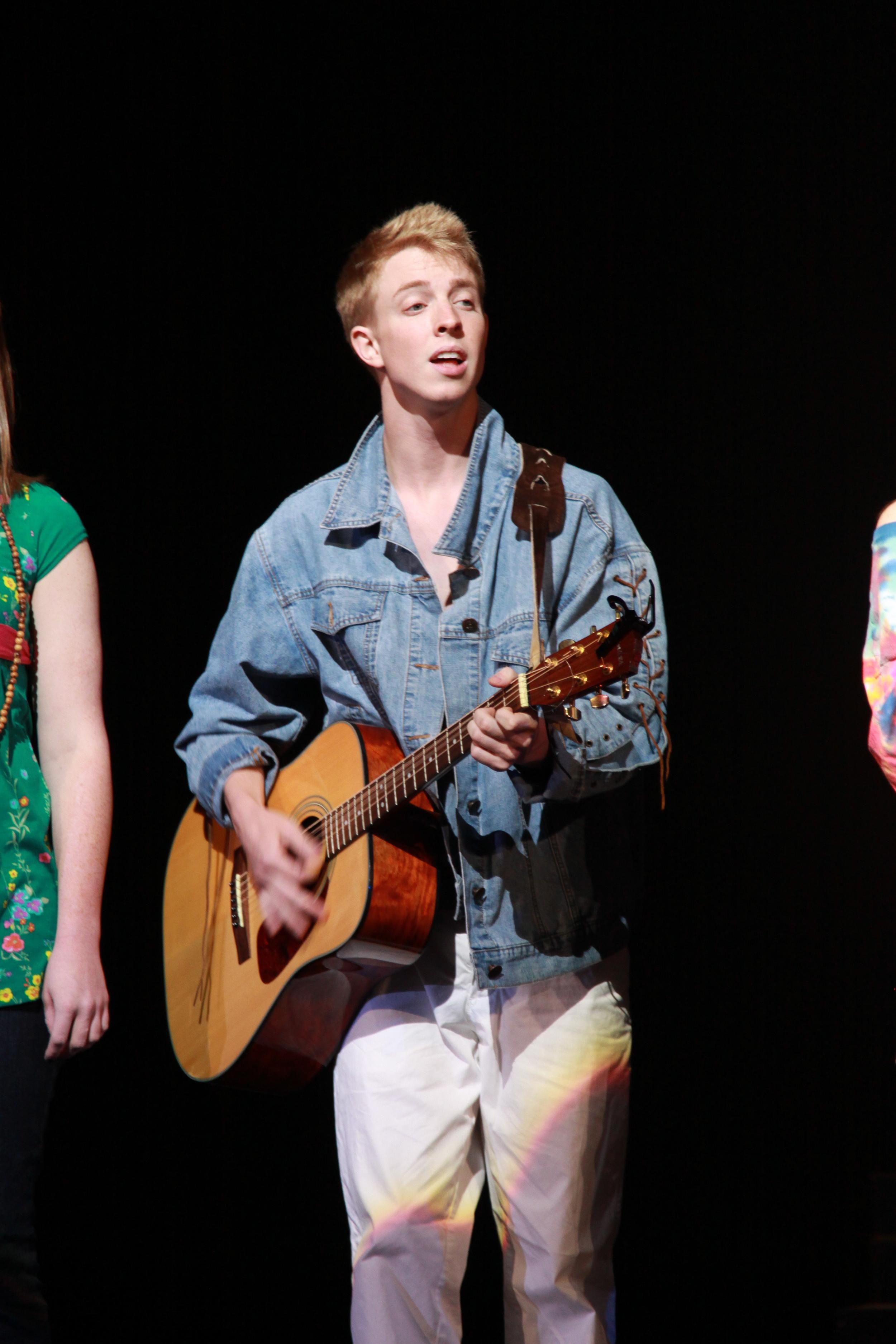 Performing at a Broadway Dreams event at the Cobb Energy Center in Atlanta, GA.