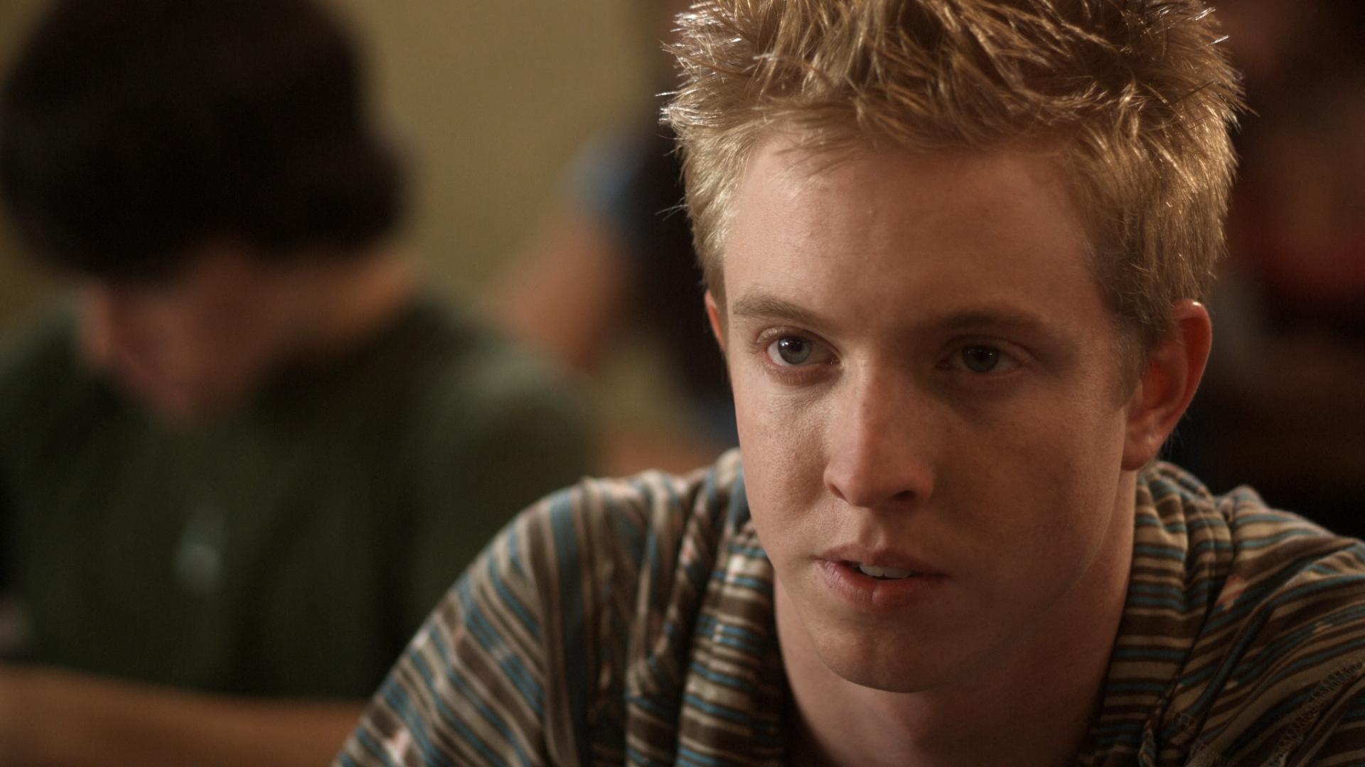 Still shot from The Fat Boy Chronicles , directed by Jason Winn, written by Michael Buchanan & Diane Lang, Cinematography by Jeremy Osbern.