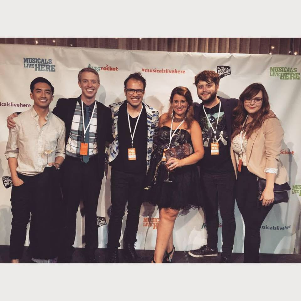 The team behind  The Last Time We Were Here , a new musical at the 2015 New York Musical Theatre Festival.