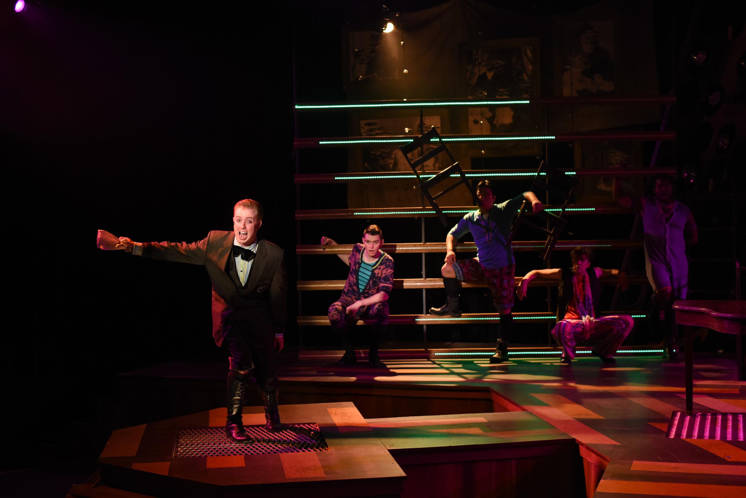 Spring Awakening  @ The Warehouse Theatre  Photo: Wallace Krebs