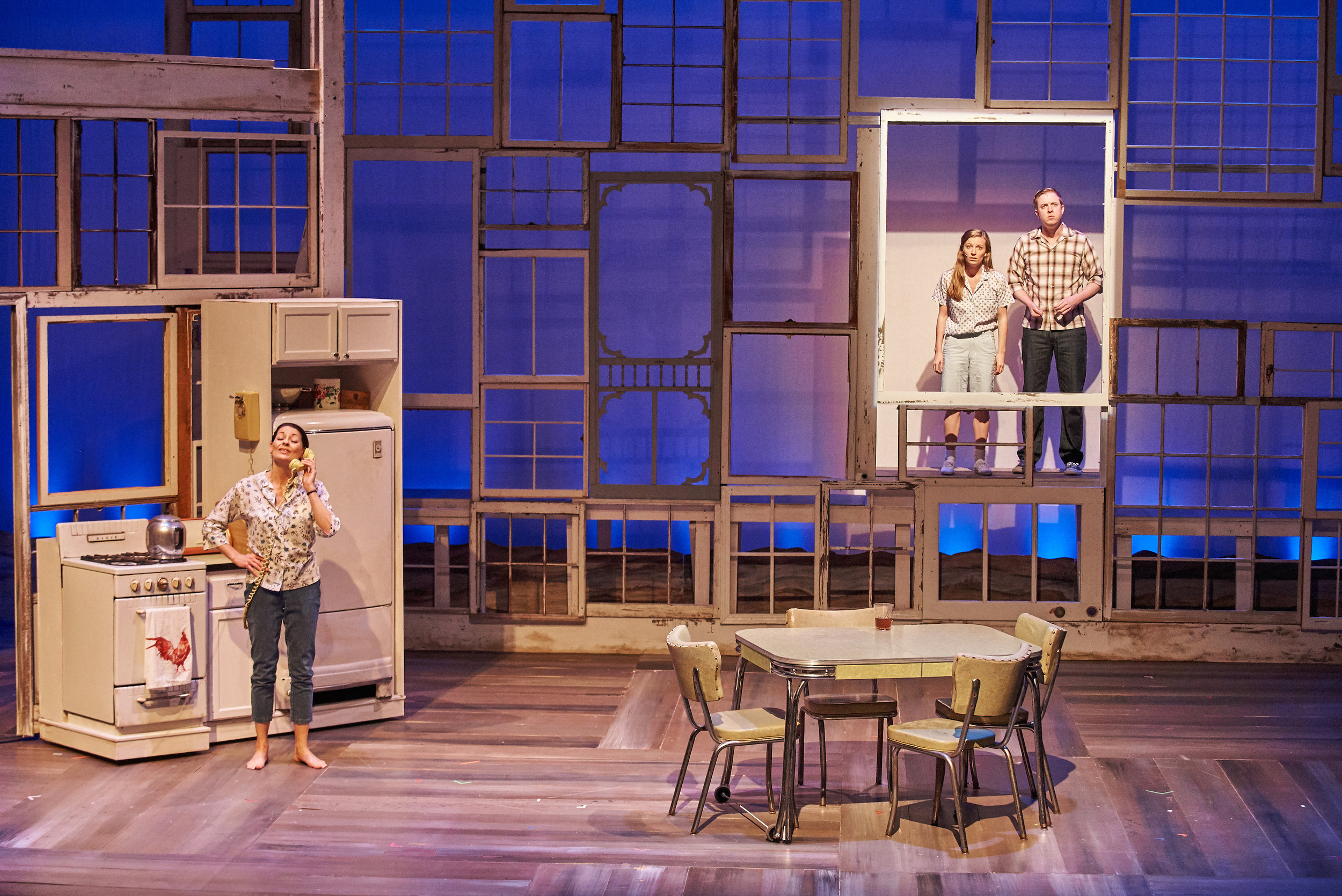 The Bridges of Madison County  at Aurora Theatre.  Photo: Chris Bartelski