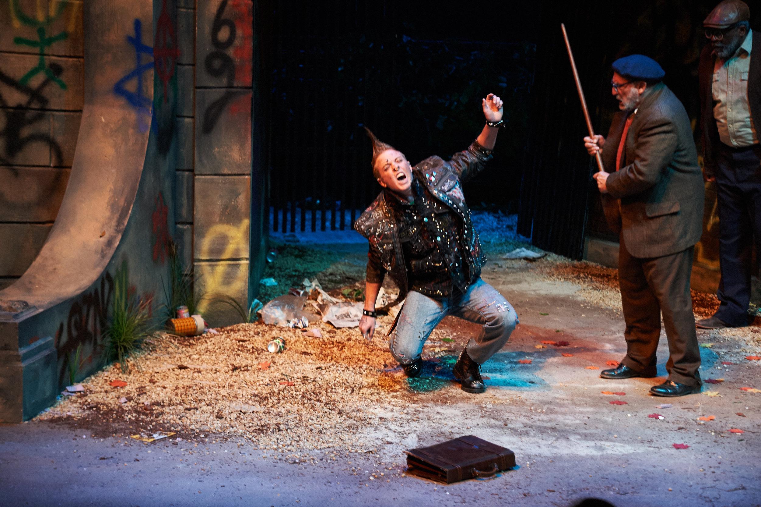 I'm Not Rappaport  at Aurora Theatre.  Photo: Chris Bartelski