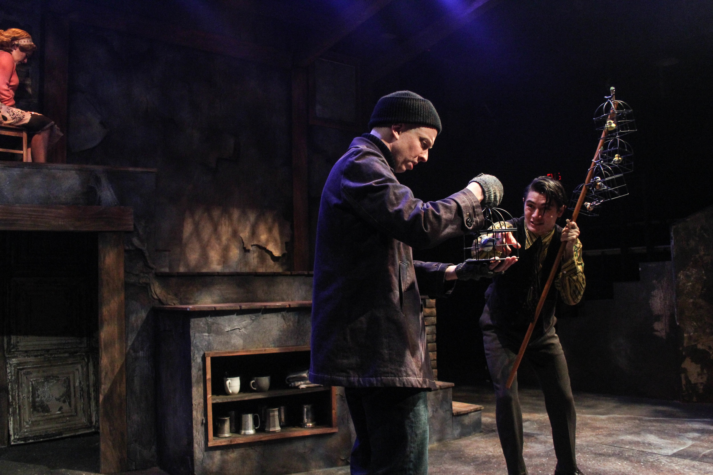Sweeney Todd  at Actor's Express.  Photo: BreeAnne Clowdus
