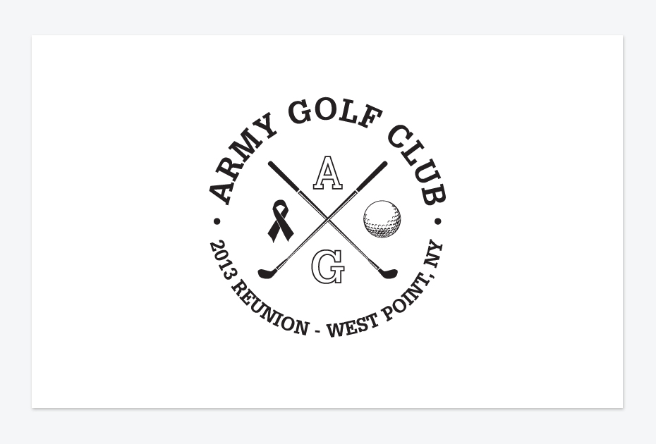 Army Golf Team Logo