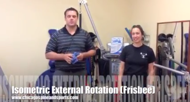 Video 9# - Isometric External Rotation (Shoulder)