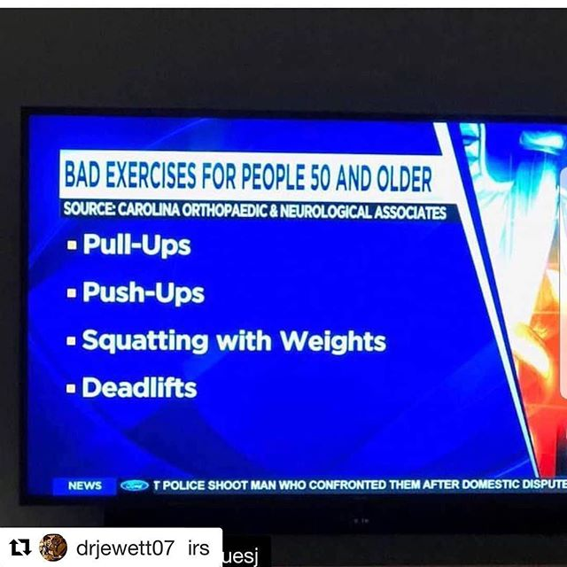No. No. And No. could not disagree more. #Repost @drjewett07 with @get_repost ・・・ This is the kind of bullshit we must all be battling. This puts sadness in my heart @nevpt @strongfirst @crossfithealth @crossfit #strengthtraining #squats #clinicalstrength #gobeawesome #fightdoughiness #quitbeingsoft  #Repost @ropeoverstairs with @get_repost ・・・ Don't let this be your thinking. #strengthisforeveryone