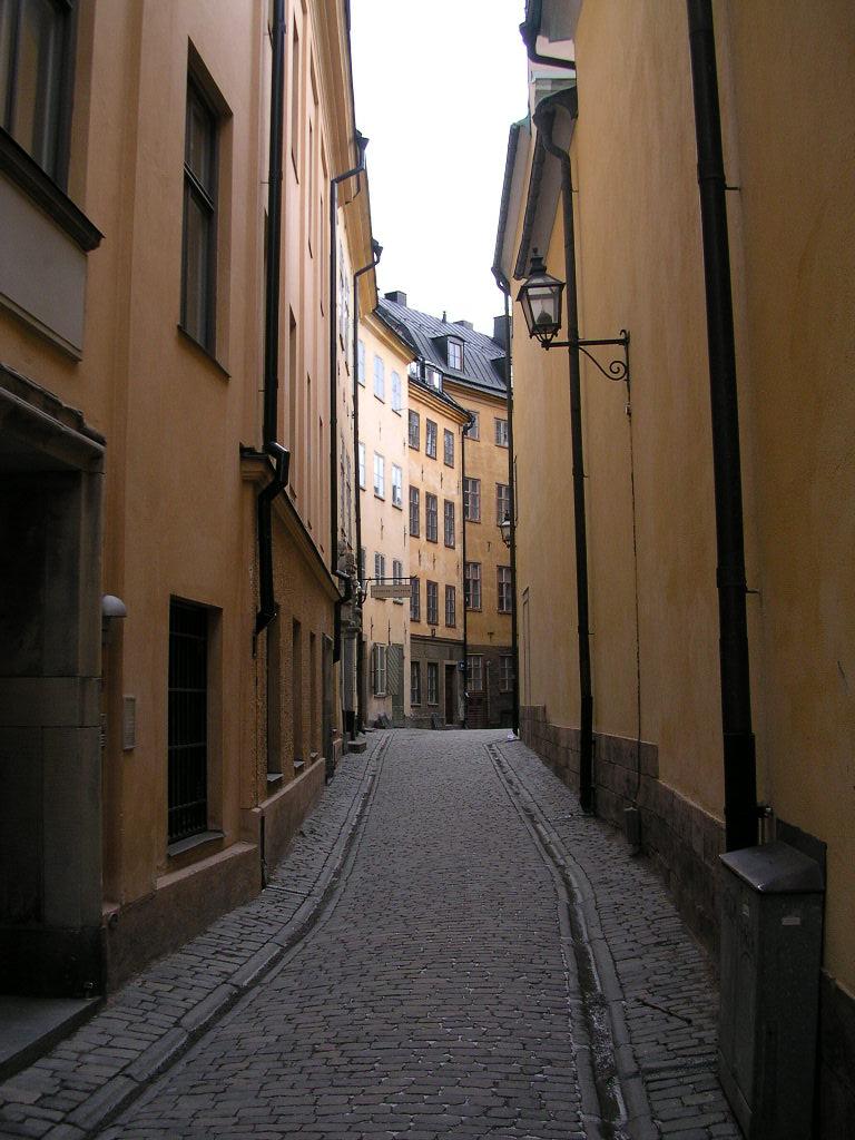 Streetscape in Stockholm Sweden.JPG