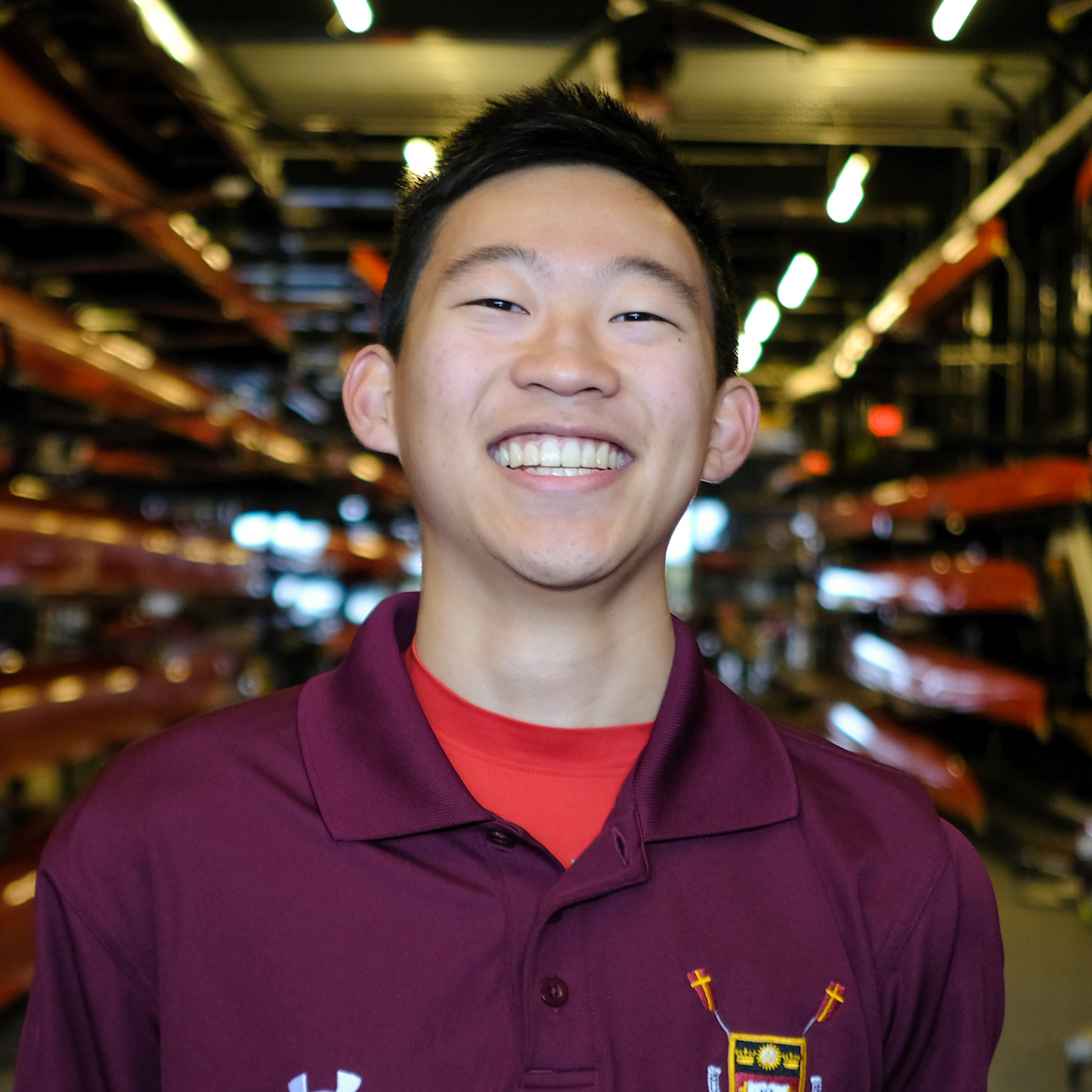 Justin Junichi-Lian Li - Hometown: New York, NYClass: 2022Bio: Justin began coxing at St. Paul's in Concord, NH, where he won bronze at the 2018 NEIRAs in the 2V8. As a freshman at BC, Justin has coxed the Collegiate 4+ at the HOCR, the 2V8 at the Crew Classic, and the Frosh 8. Justin is a Political Science major in the college of Arts and Sciences and is considering a finance minor in the Carroll School. In his free time, Justin likes drinking boba tea and watching hype viddies.