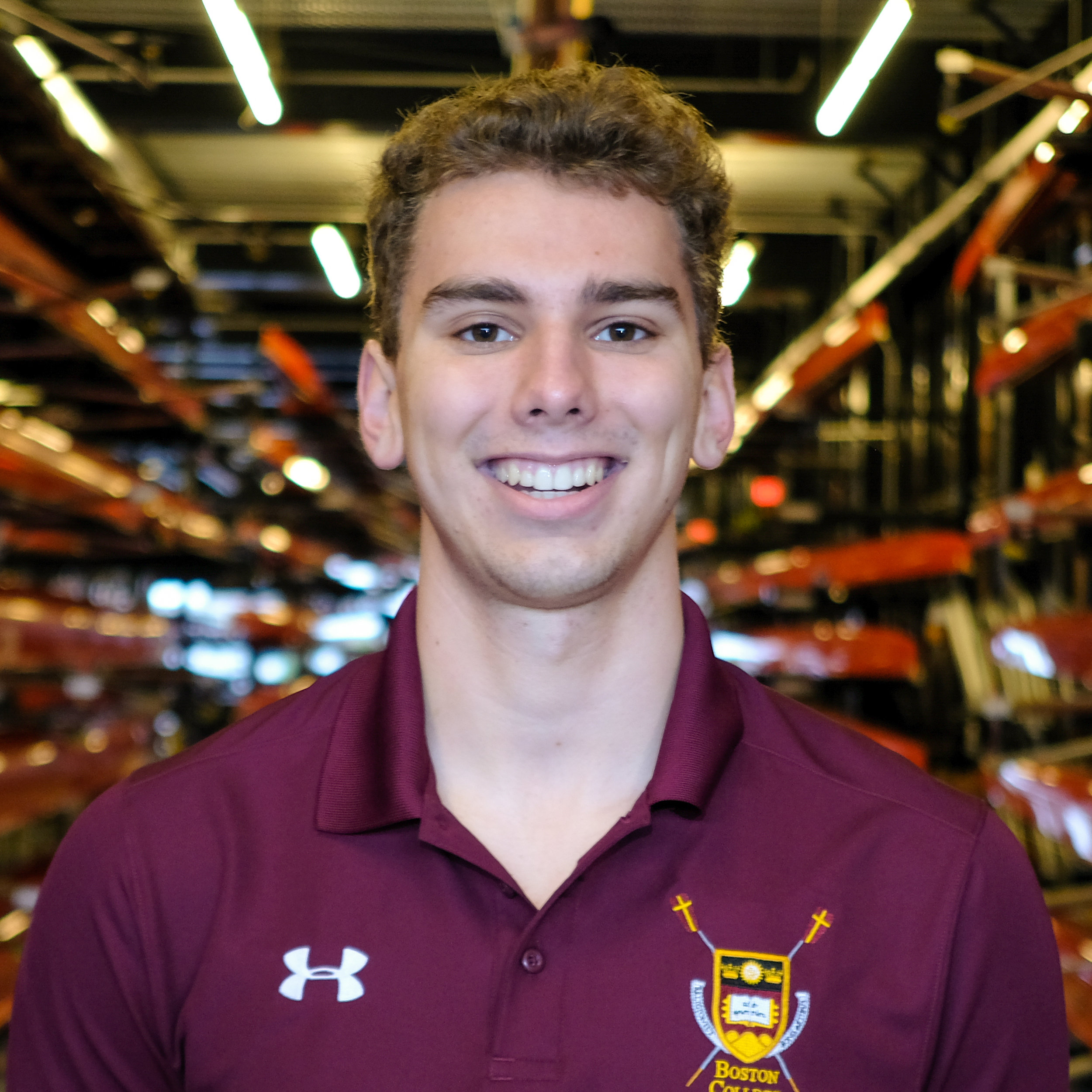 Jameson Lehrer - Hometown: Winchester, MAClass: 2022Height: 6' Weight: 195Bio: Jameson is from Winchester, Massachusetts. He is a freshman studying Political Science in the Morrisey College of Arts and Science. Jameson began rowing at Brooks School, where he rowed for four years.