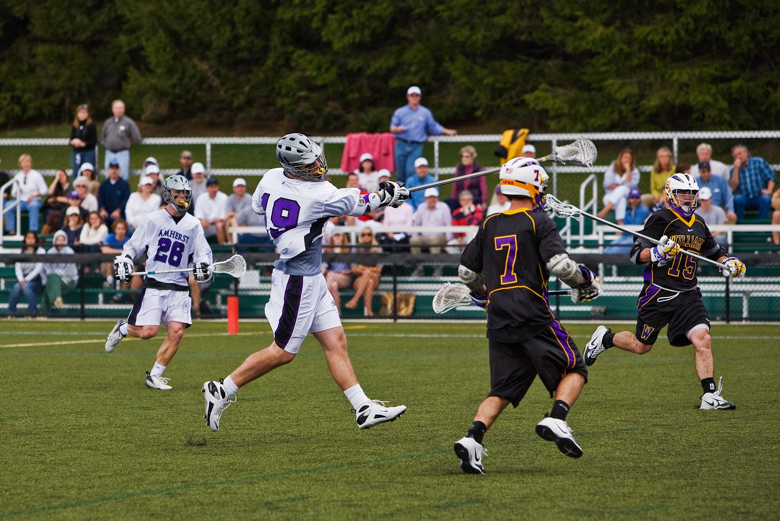 Men's College Lacrosse, Amherst vs Williams, 2008