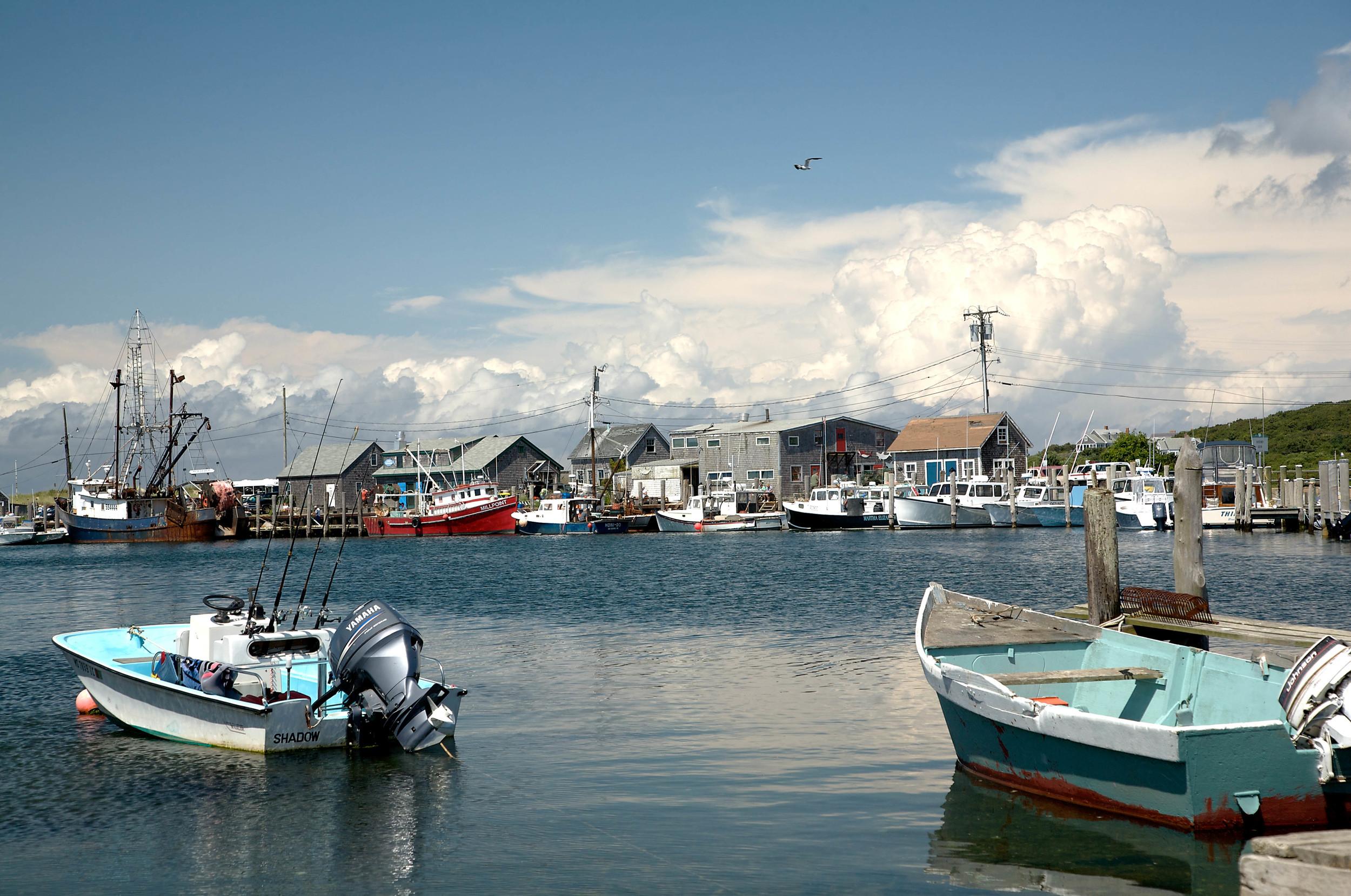 Menemsha Harbor II, Menemsha Fishing Village