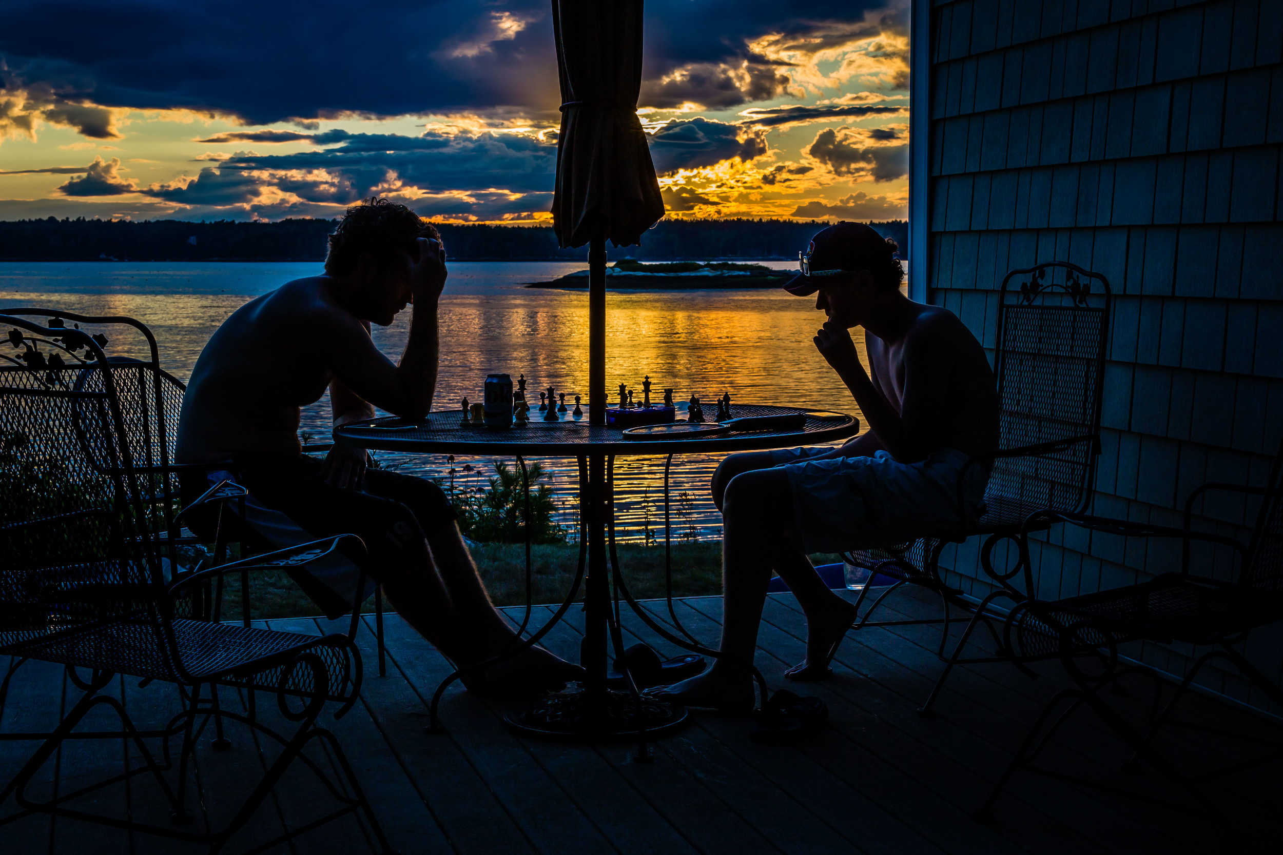 Knight Chess, Somewhere in Maine, 2015
