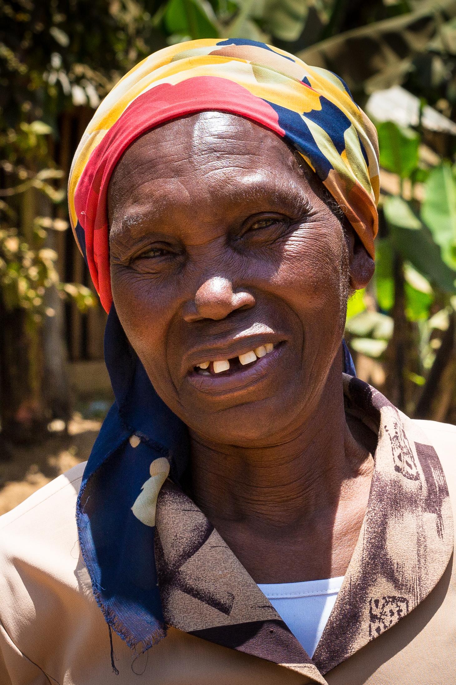 Salome, Beloved Grandmother, Meru, Kenya