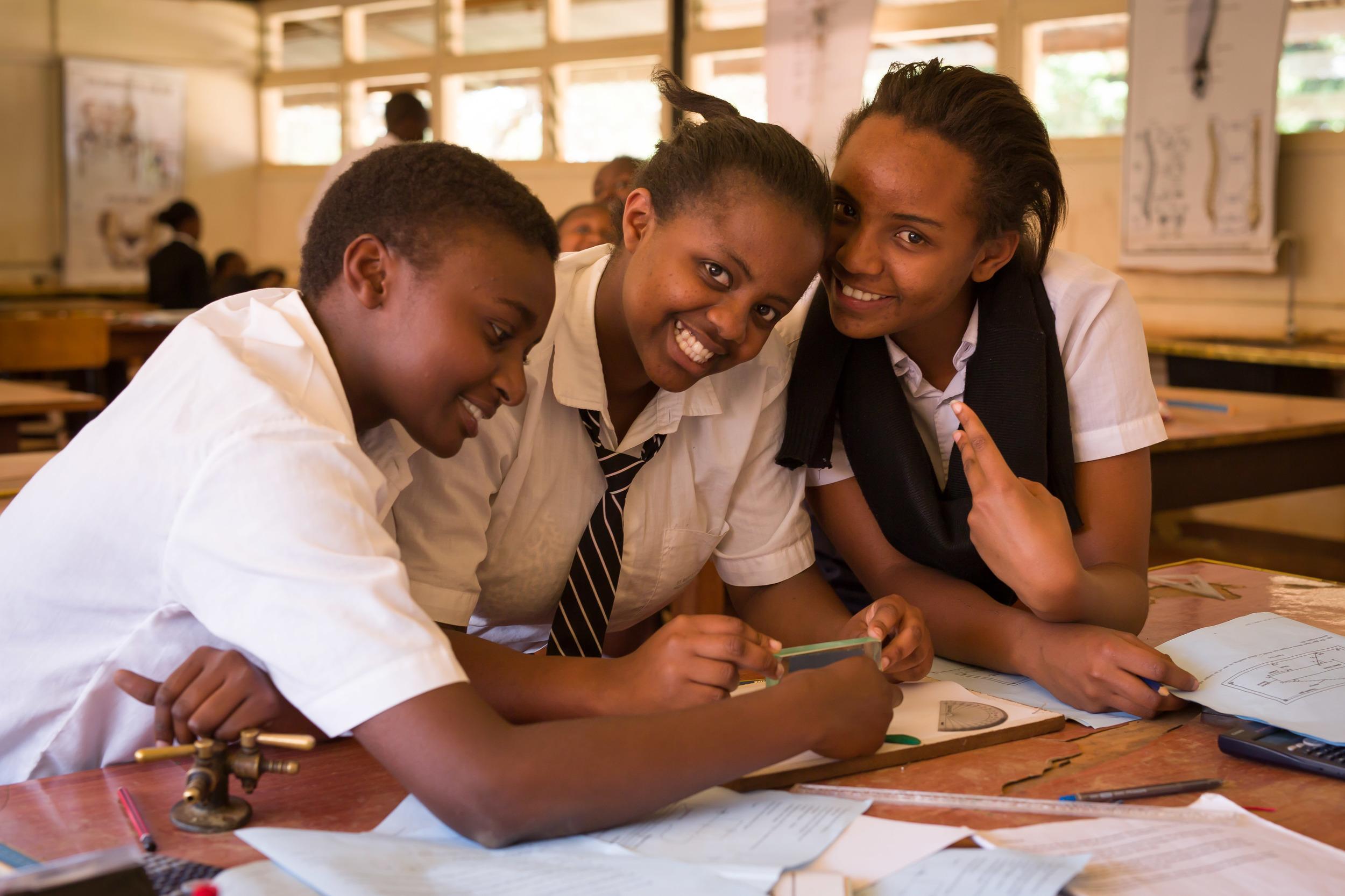 12th Graders, Igoji, Meru County, Kenya