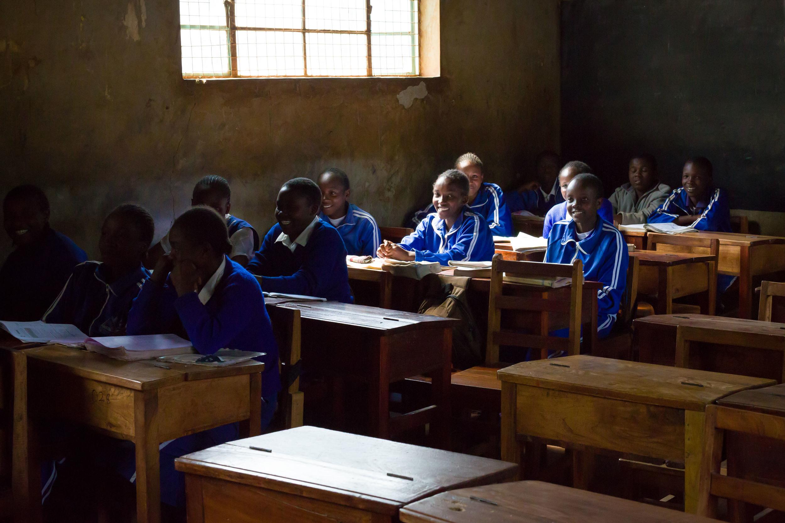 8th Graders, Kiraria Primary, Meru, Kenya