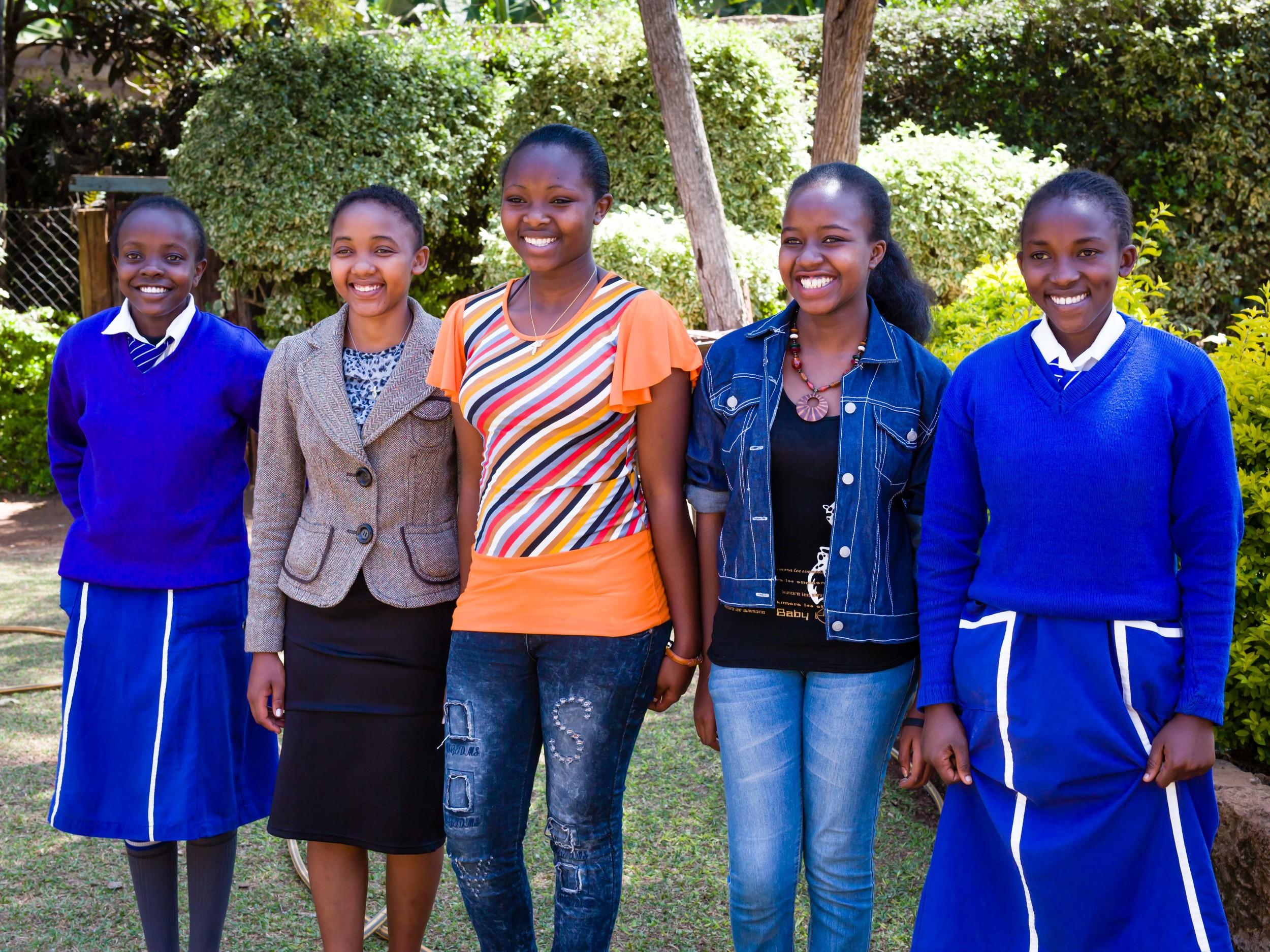 Charter Class 2015, Sponsored Students, Meru, Kenya